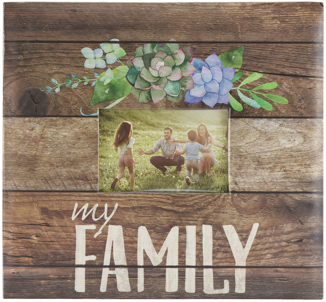 MBI MY FAMILY -EXPRESSIONS ALBUM 12x12