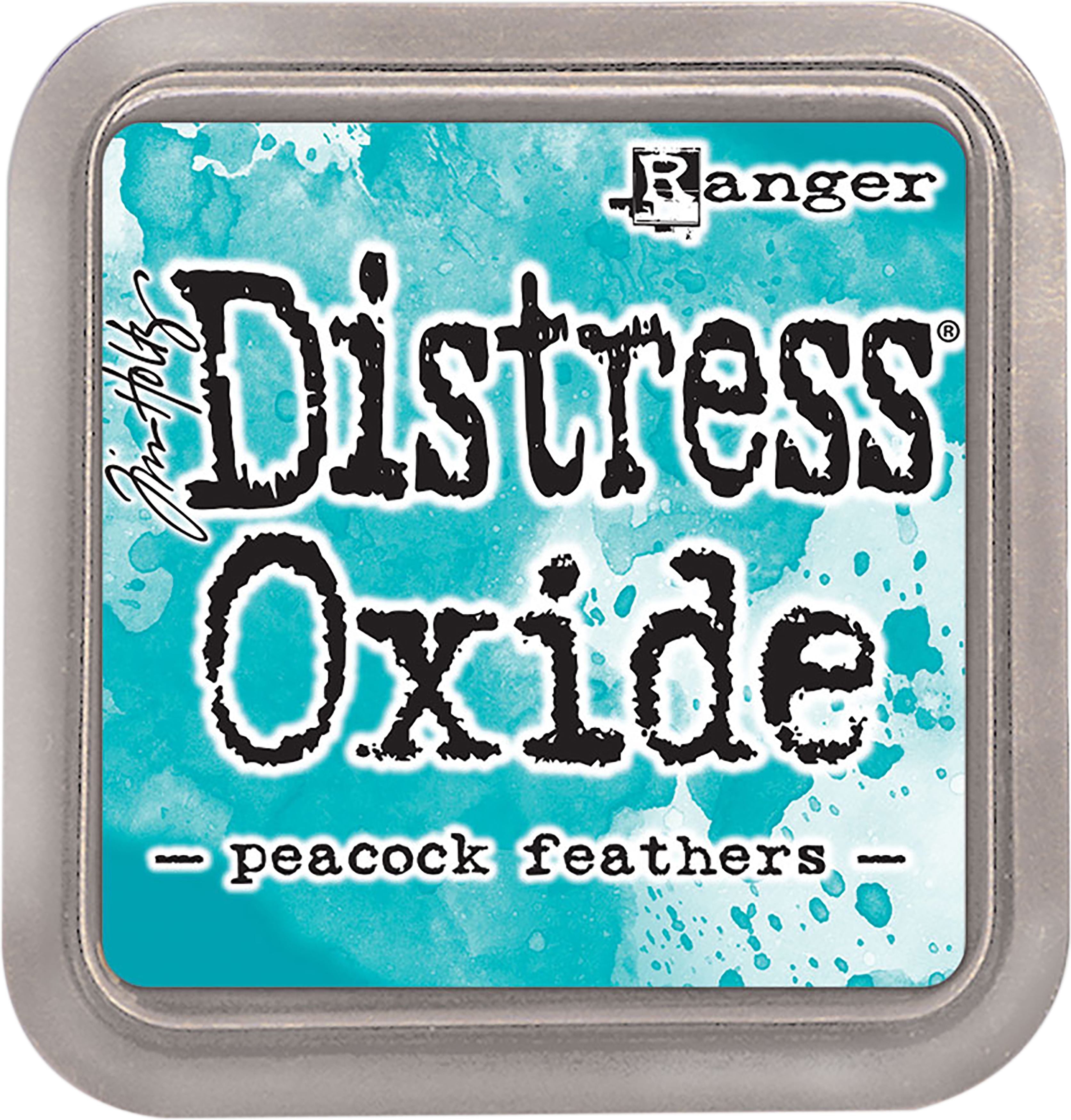Tim Holtz Distress Oxides Ink Pad-Peacock Feathers