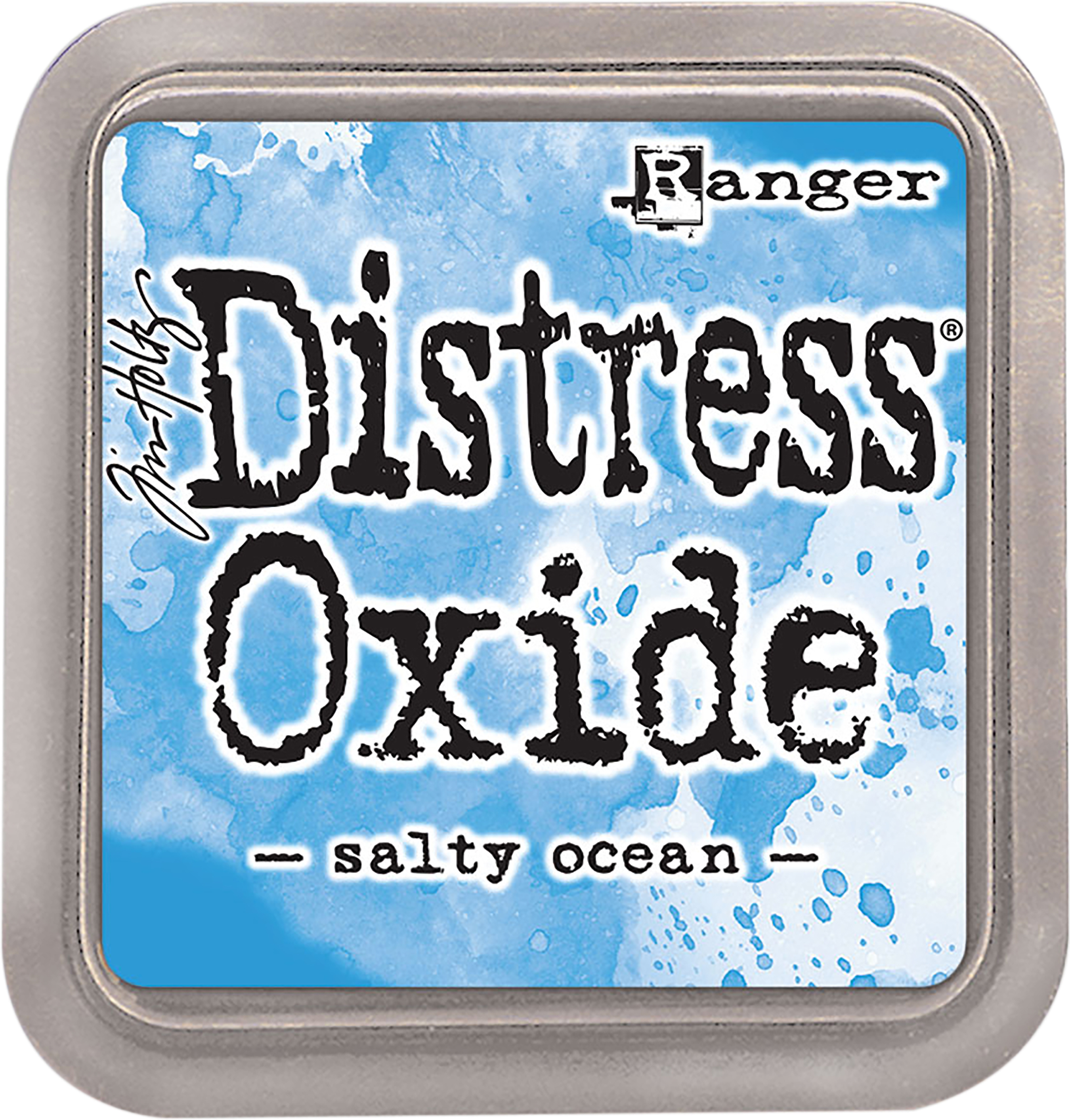 Tim Holtz Distress Oxides Ink Pad-Salty Ocean