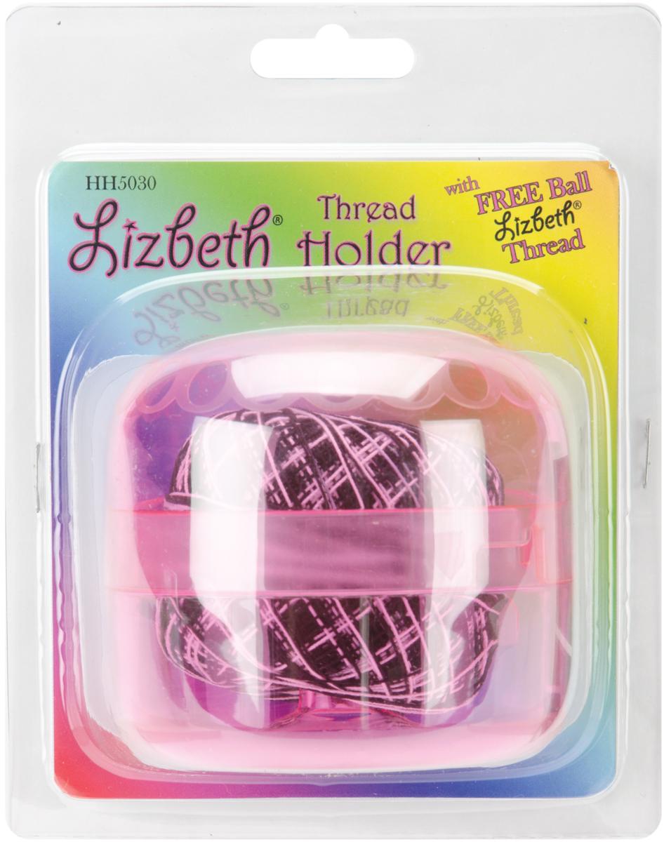 Red Thread Holder with Lizbeth Ball