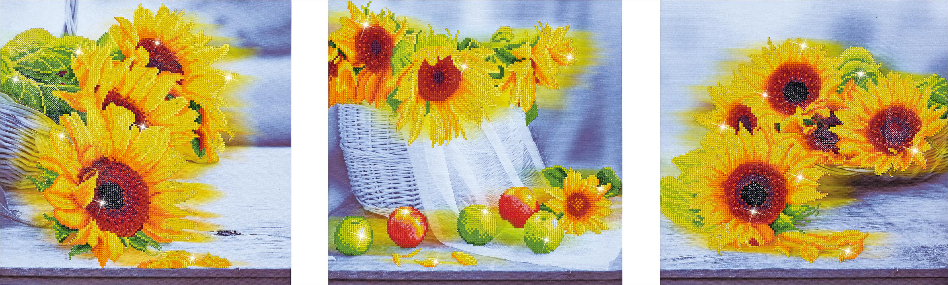 Diamond Dotz Diamond Embroidery Facet Art Kit 59X19.75-Sunflower Days