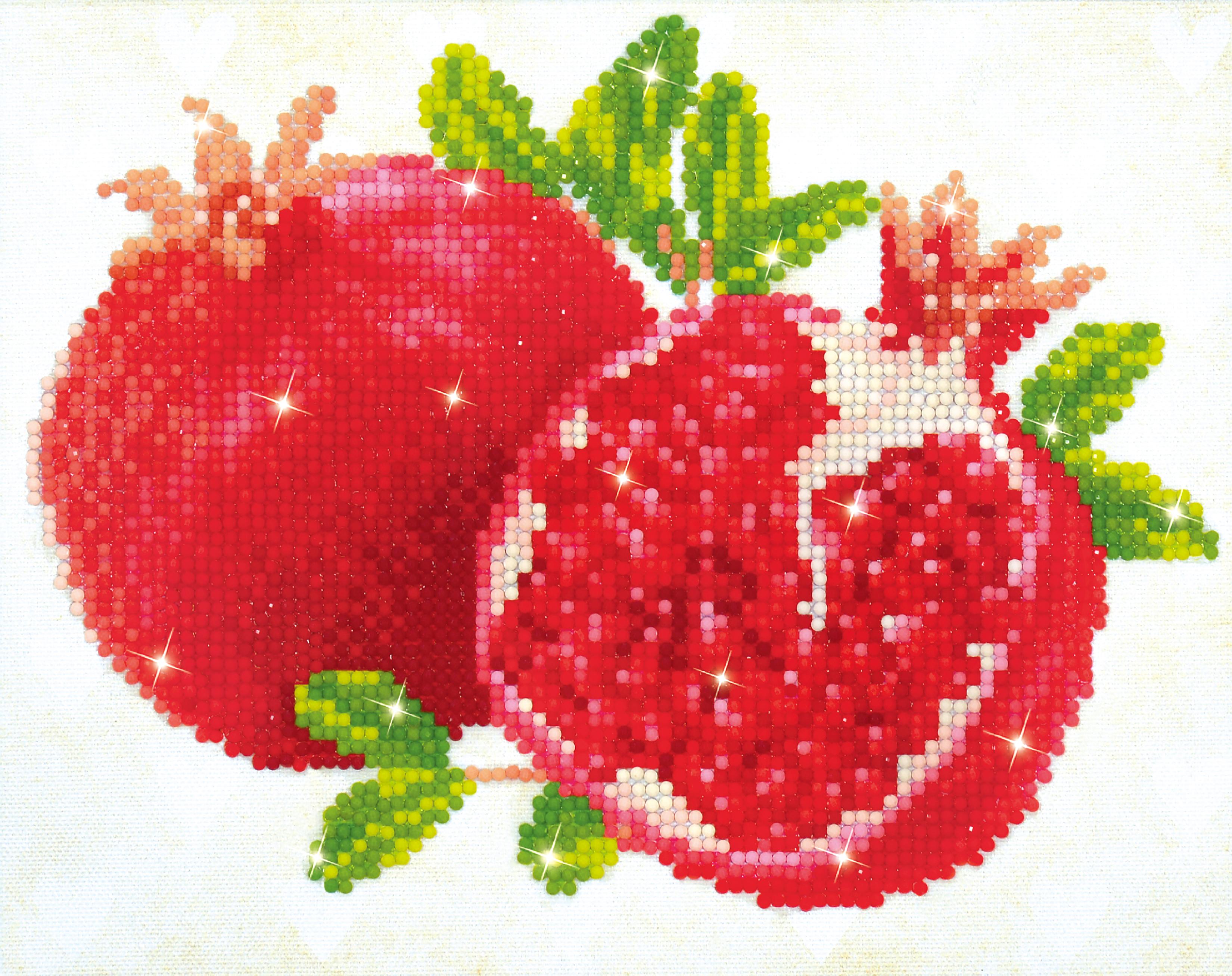 Diamond Dotz Diamond Embroidery Facet Art Kit 12X10-Good Fortune Pomegranits