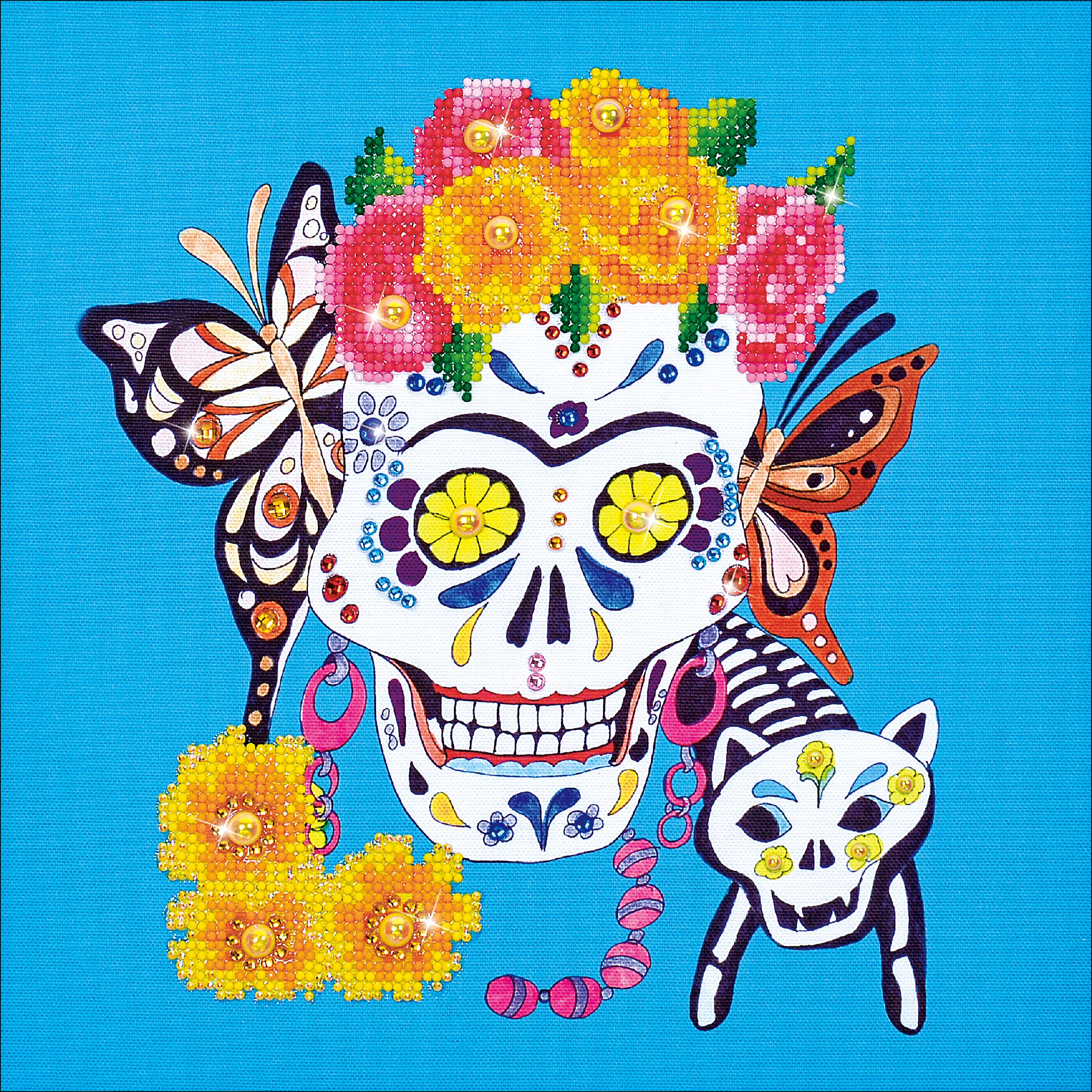 Diamond Dotz Diamond Embroidery Facet Art Kit 15.75X15.75-Cat Lady