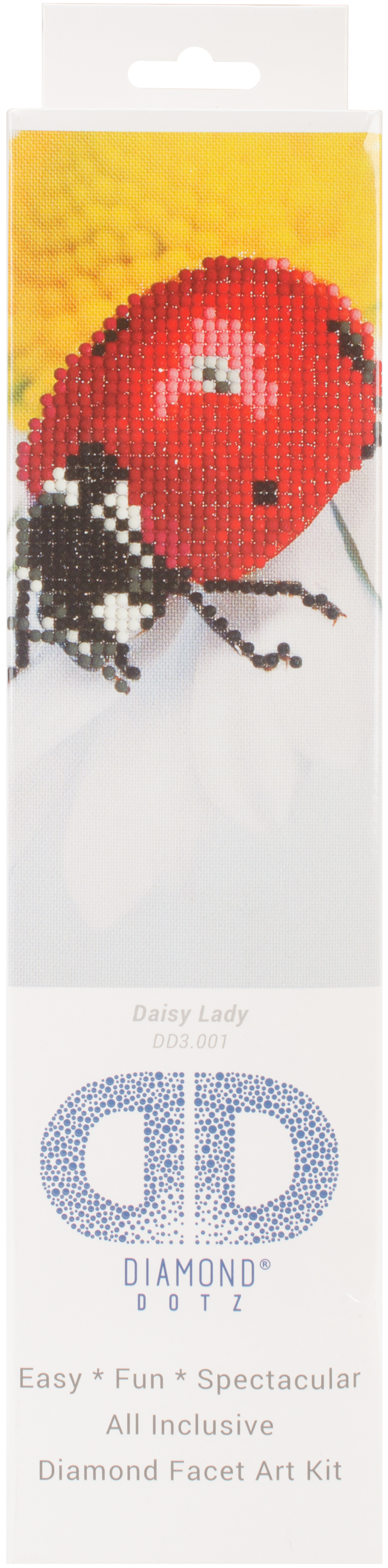 Diamond Dotz Diamond Embroidery Facet Art Kit 9.75X9.75-Daisy Lady