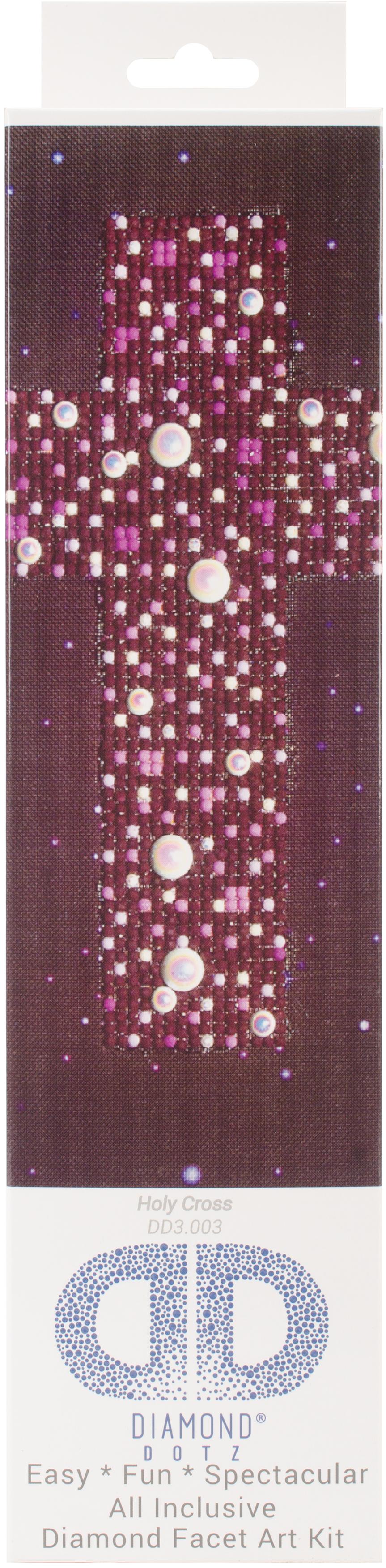 Diamond Dotz Diamond Embroidery Facet Art Kit 9.75X9.75-Holy Cross