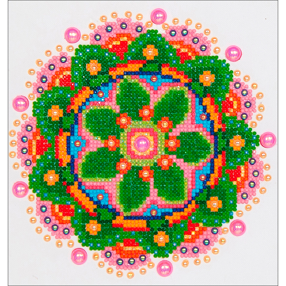 Diamond Dotz Diamond Embroidery Facet Art Kit 11.5X13.5-Flower Mandala