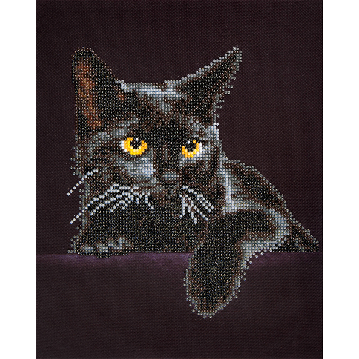 Diamond Dotz Diamond Embroidery Facet Art Kit 13.75X17-Midnight Cat
