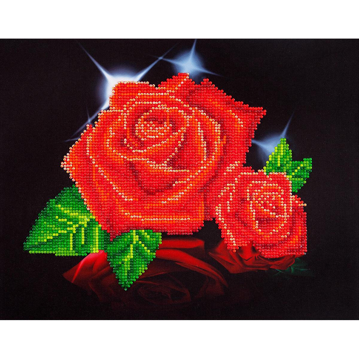 Diamond Dotz Diamond Embroidery Facet Art Kit 17X13.75-Red Rose Sparkle