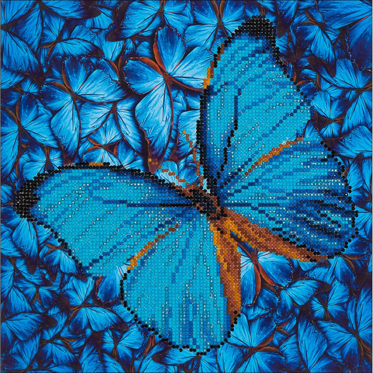 Diamond Dotz Diamond Embroidery Facet Art Kit 15X15-Flutter By Blue