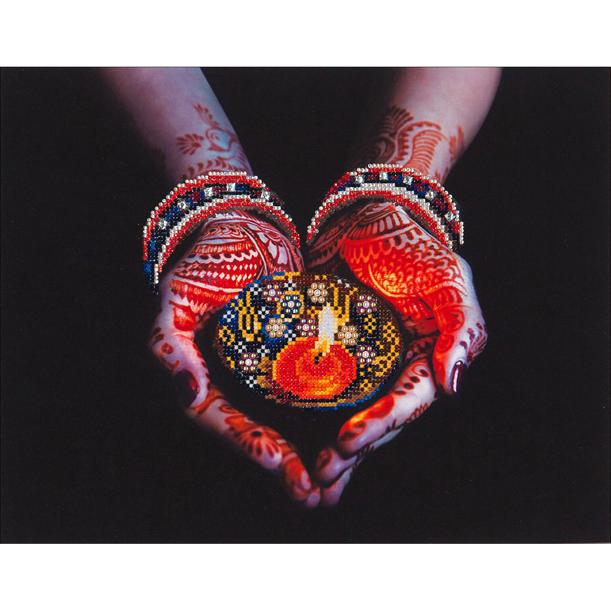 Diamond Dotz Diamond Embroidery Facet Art Kit 21.75X17.25-Peaceful Offering