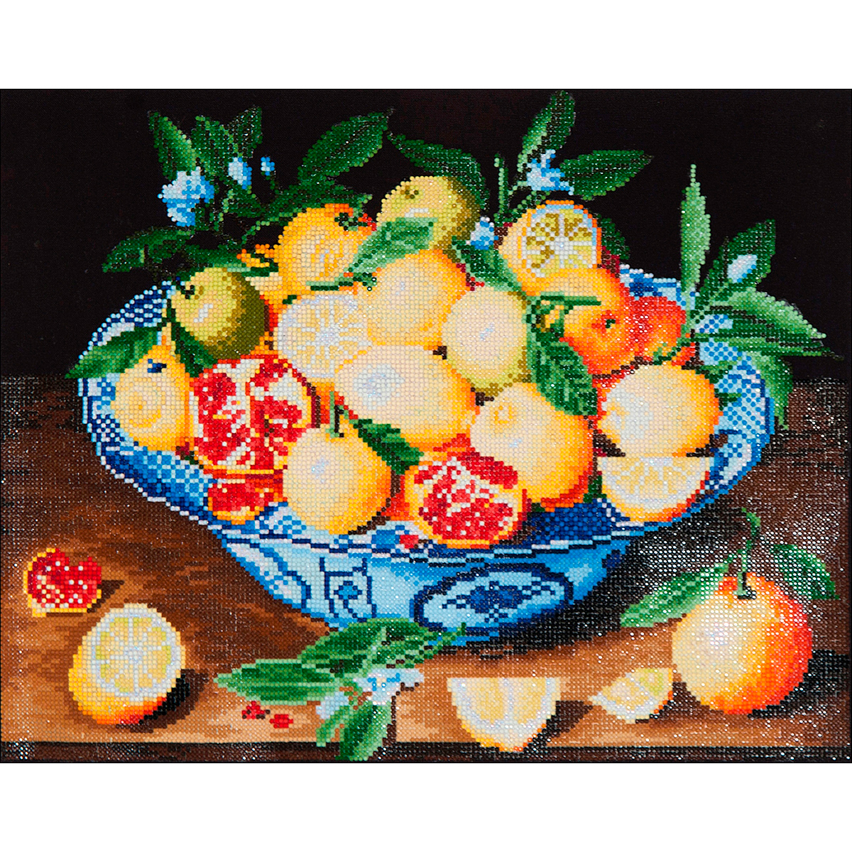 Diamond Dotz Diamond Embroidery Facet Art Kit 19.5X23.5-Still Life With Lemons