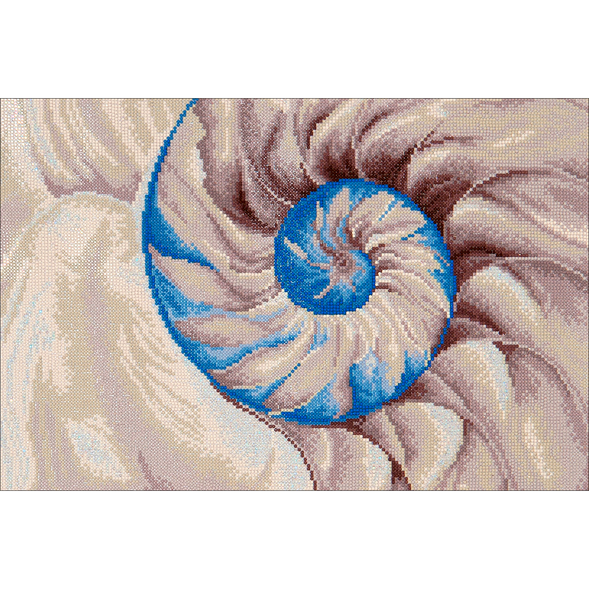 Diamond Dotz Diamond Embroidery Facet Art Kit 30X21.5-Nautilus