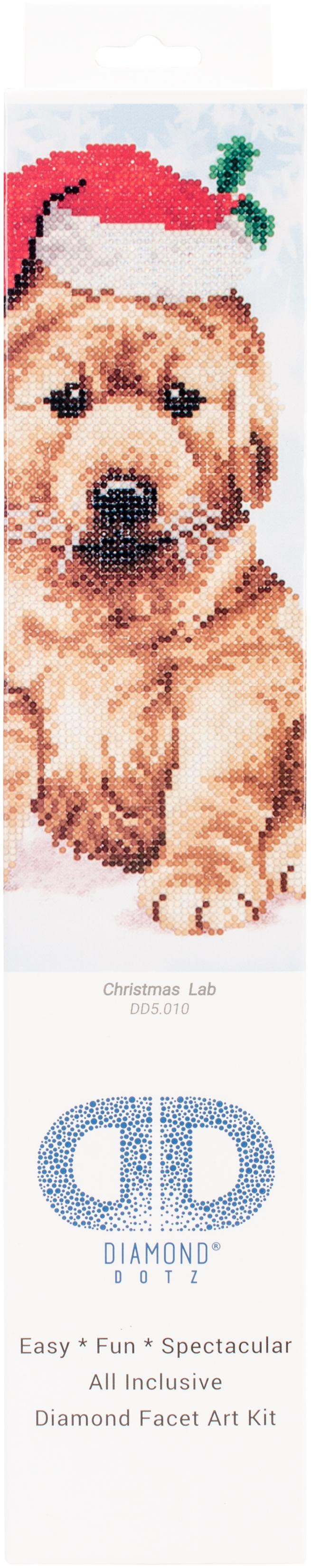 Diamond Dotz Diamond Embroidery Facet Art Kit 12.75X15.75-Christmas Lab