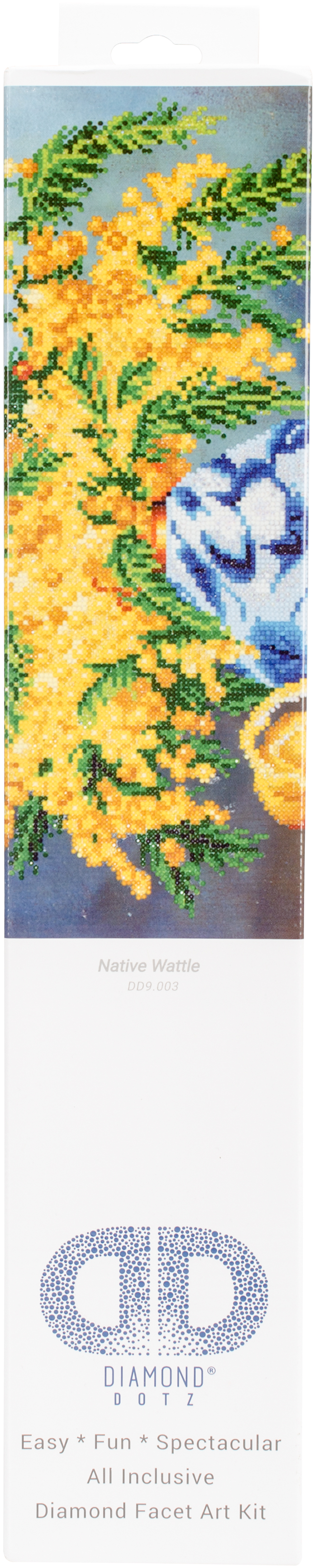 Diamond Dotz Diamond Embroidery Facet Art Kit 19.5X23.5-Native Wattle