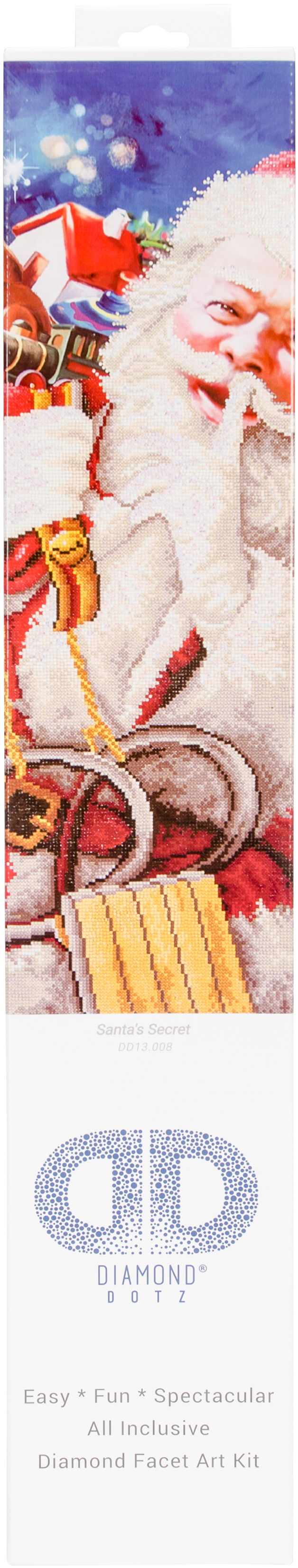Diamond Dotz Diamond Embroidery Facet Art Kit 37.25X43.5-Santa's Secret