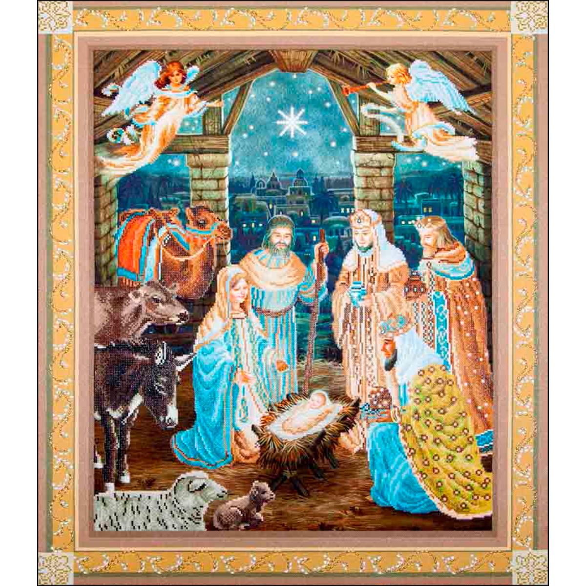 Diamond Dotz Diamond Embroidery Facet Art Kit 37.25X43.25-Nativity Scene