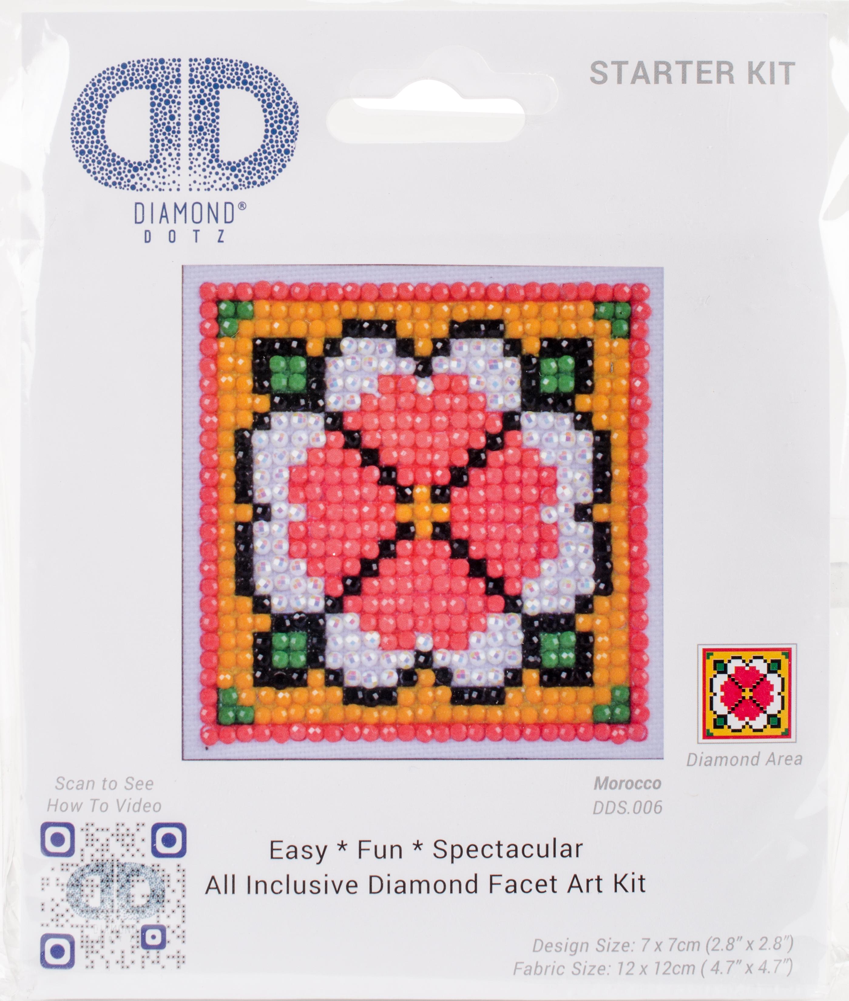 Diamond Dotz Diamond Embroidery Facet Art Kit 4.75X4.75-Morocco