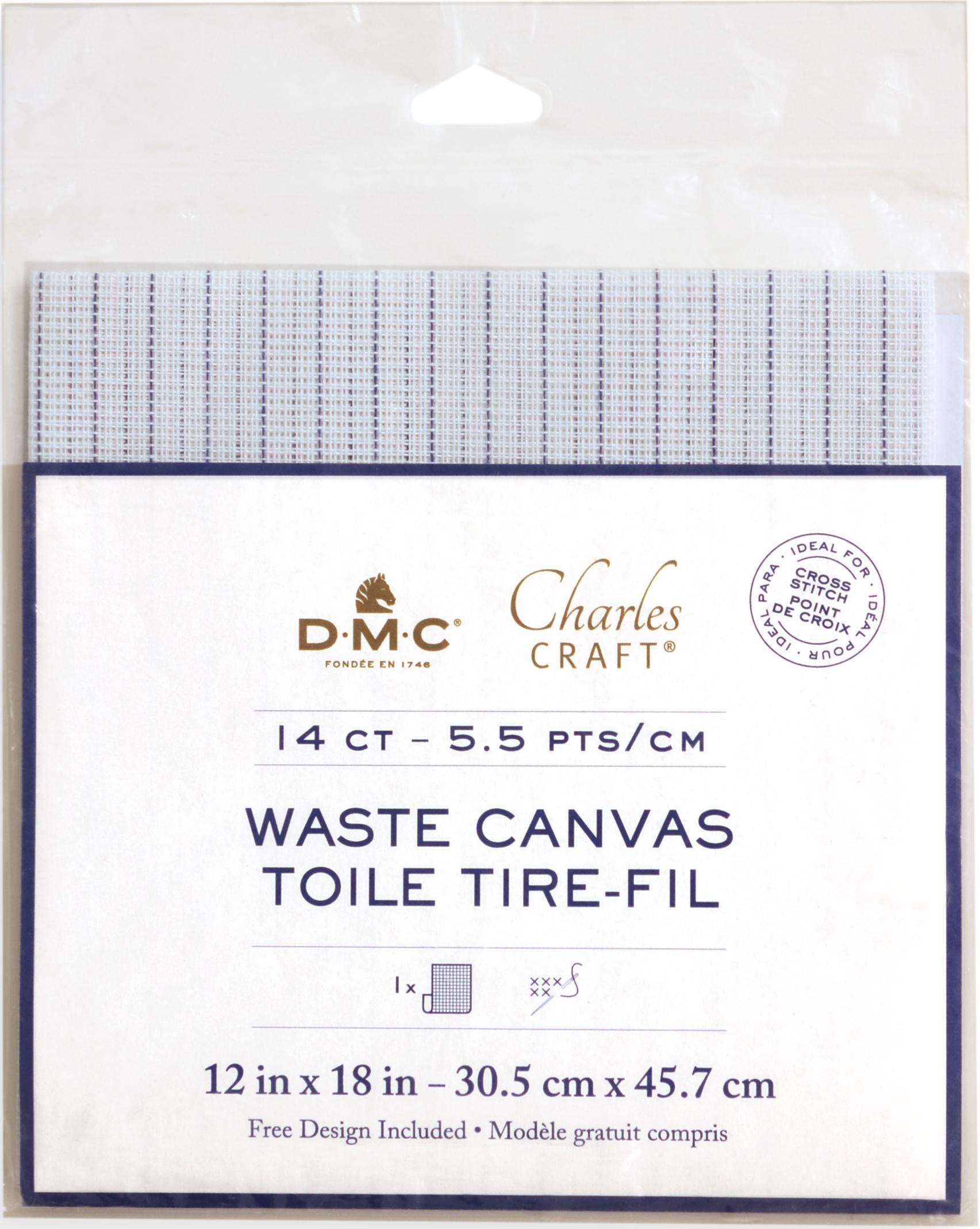 14ct Waste Fabric 12x18