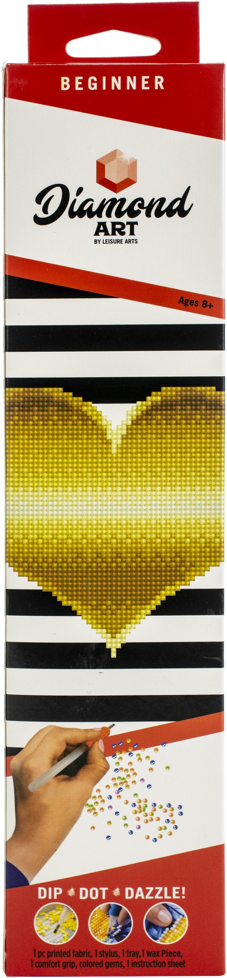 DIAMOND ART KIT 8 HEART