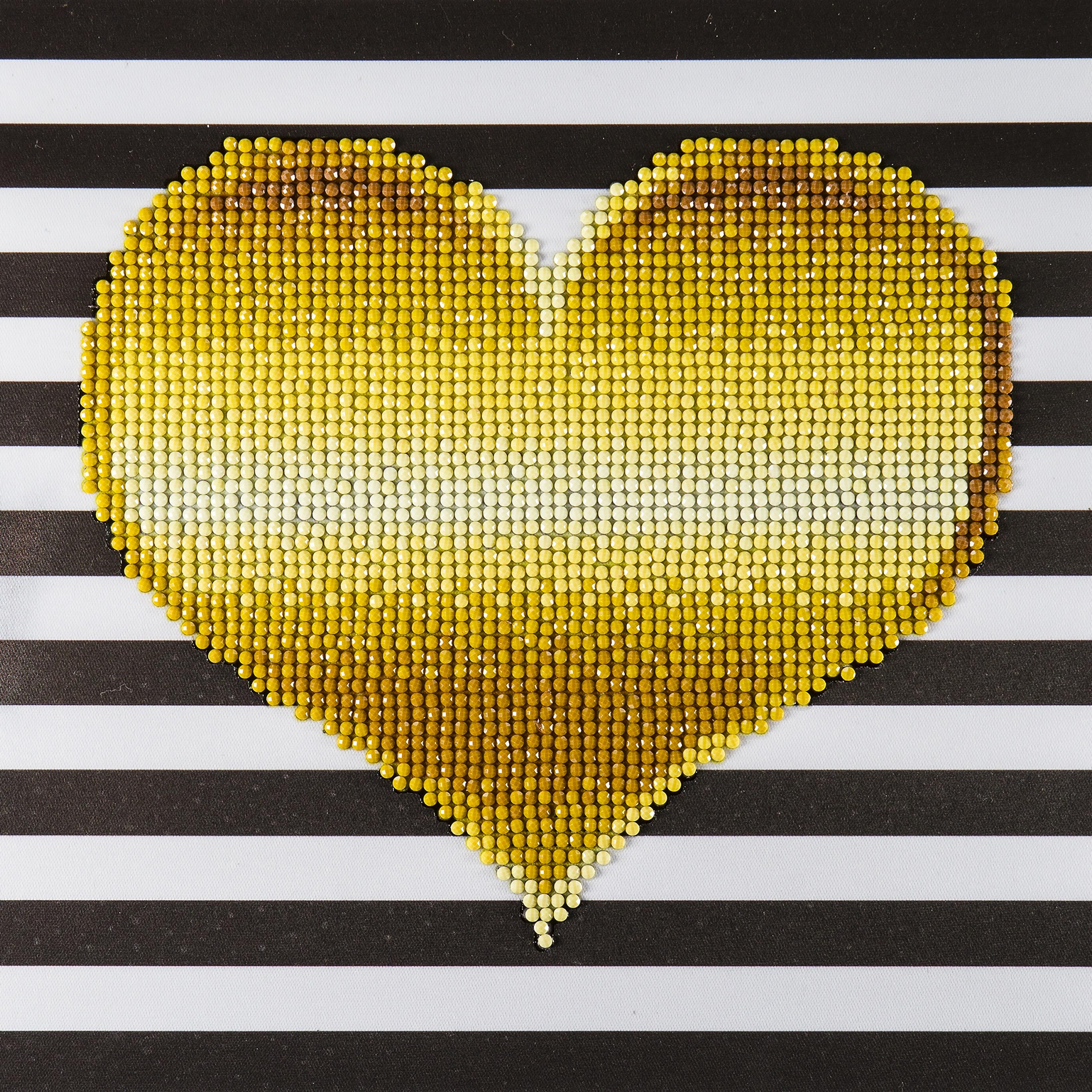 Diamond Art heart