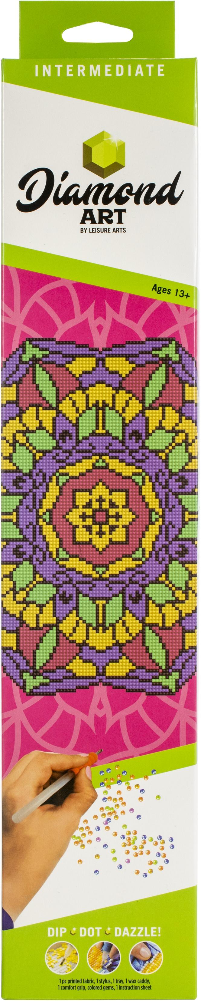 Diamond Art Kit 12x12 Intermediate Mandala
