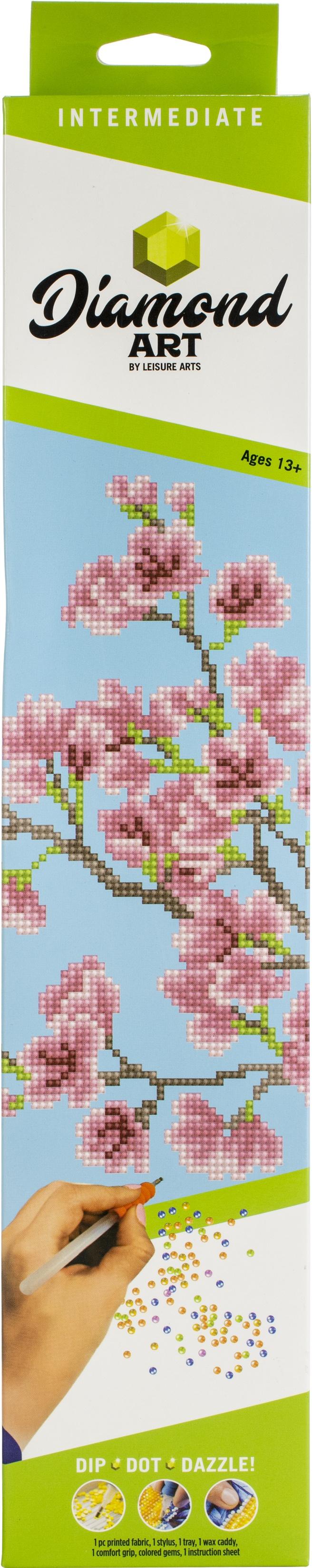 Diamond Art Kit 12x12 Intermediate CherryBlossom