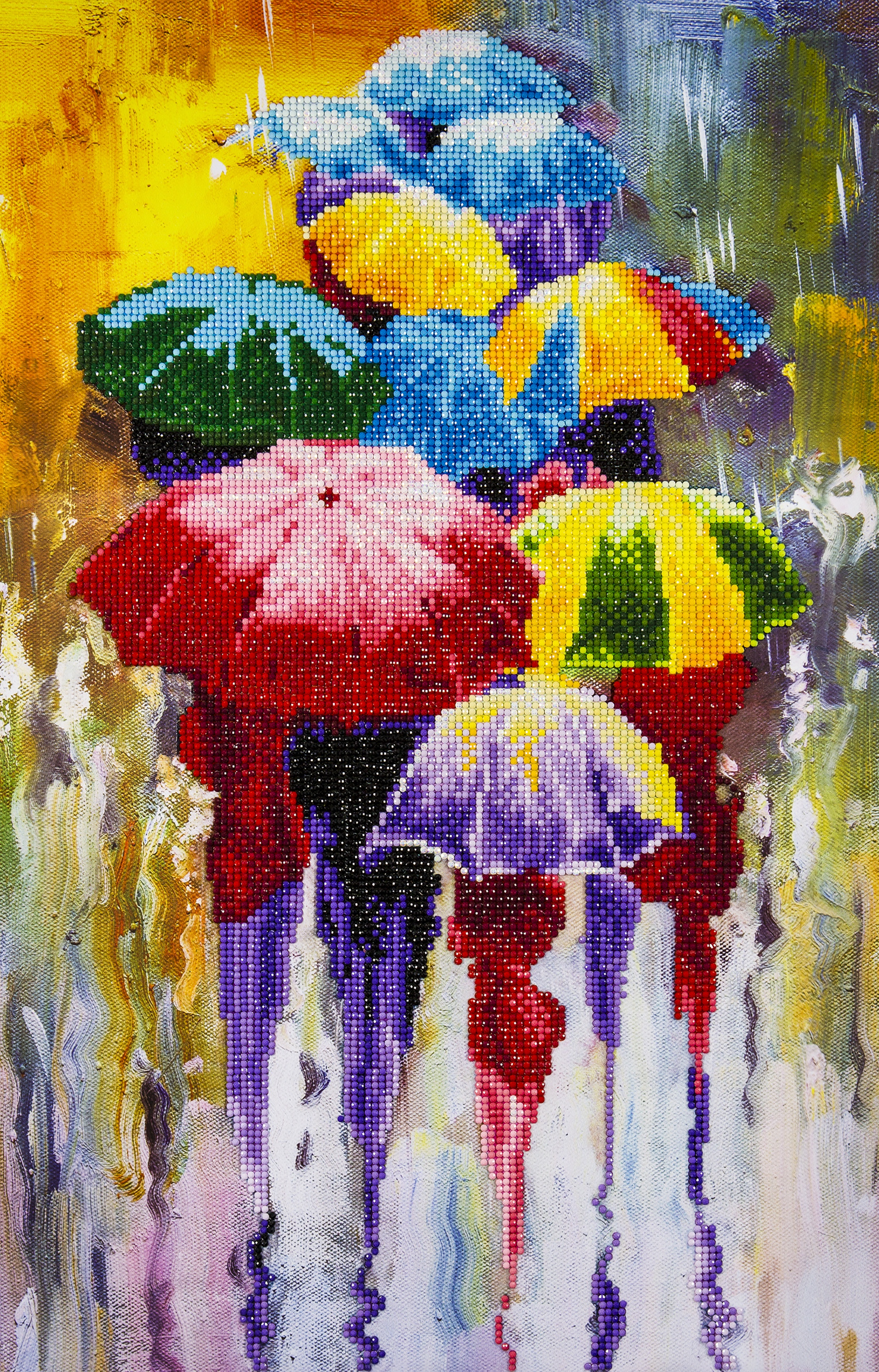 Diamond Art Advanced Kit 14X16 - Rainy Day