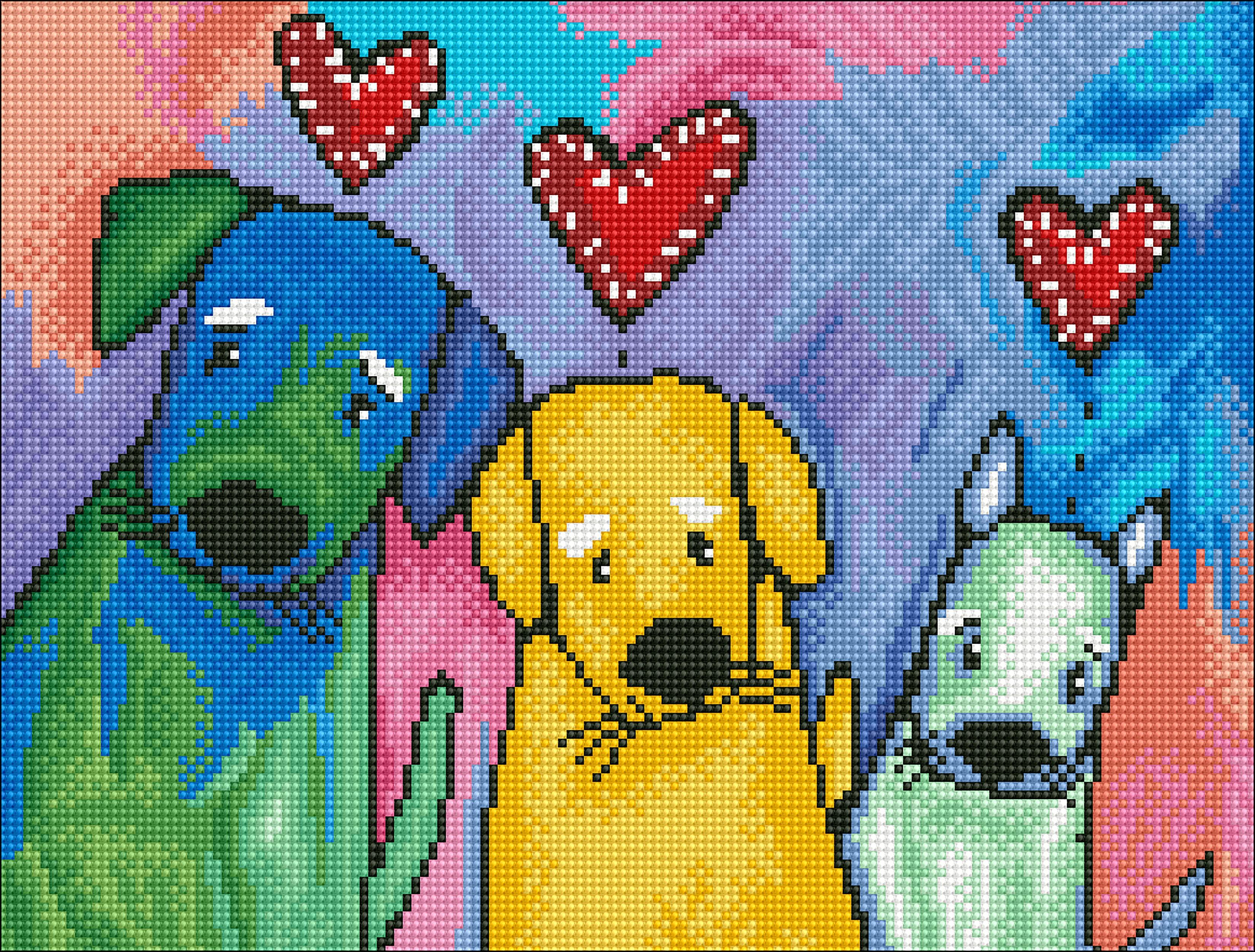 Diamond Dotz Diamond Embroidery Facet Art Kit 16.5X12.6-Three Amigos