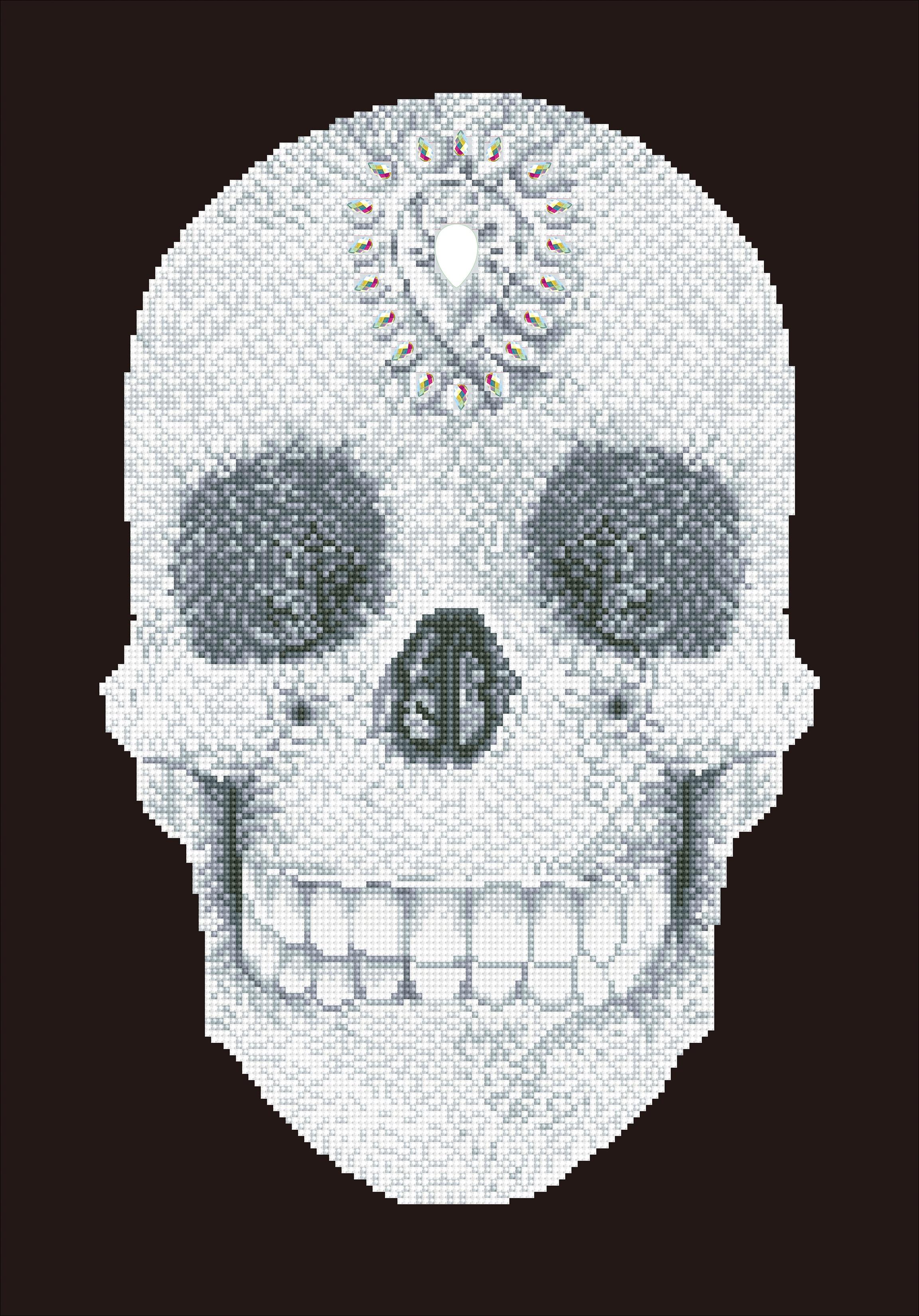 Diamond Dotz Diamond Embroidery Facet Art Kit 16.5X20.5-Crystal Skull