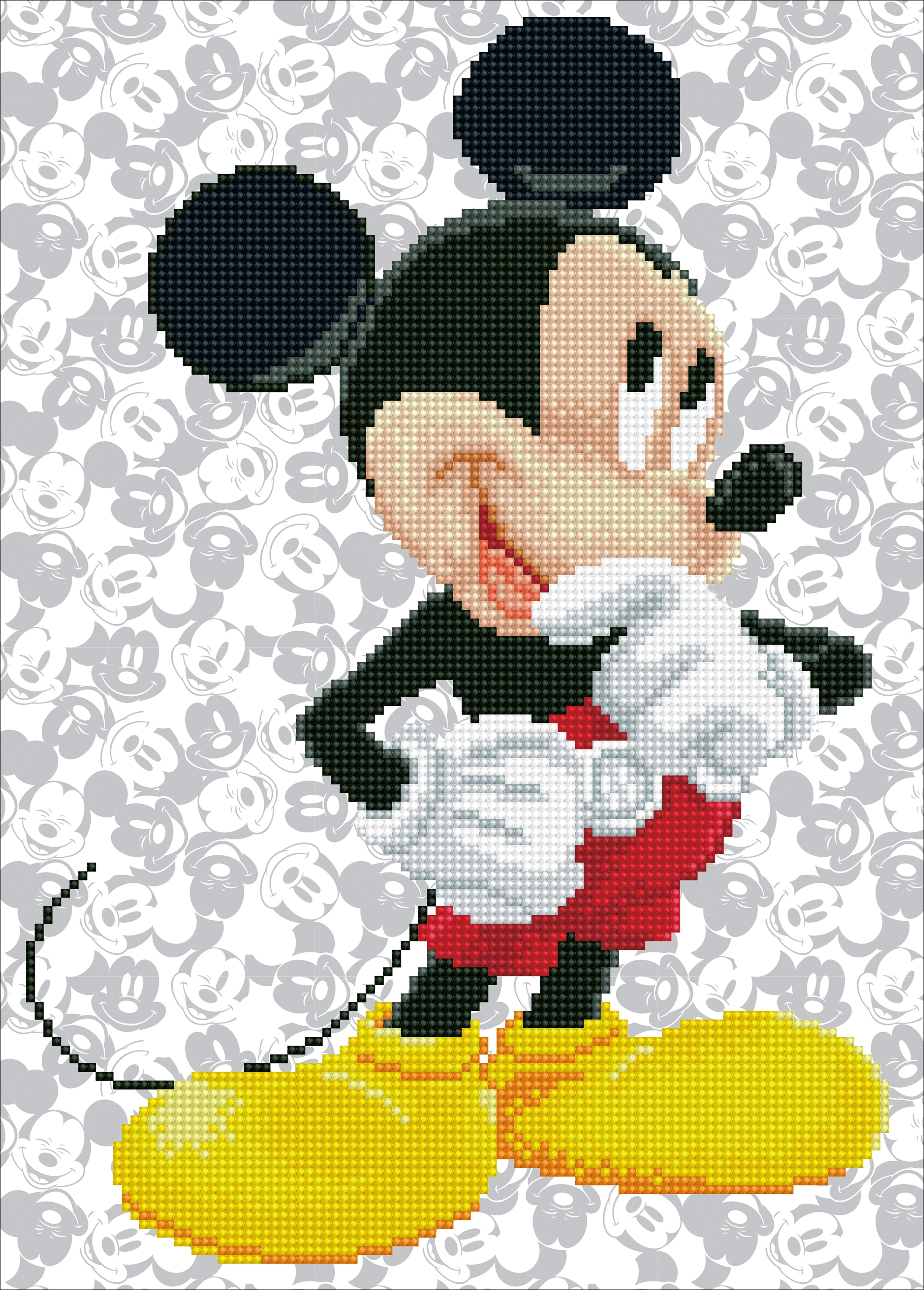 Diamond Dotz Diamond Embroidery Facet Art Kit 12.2X16.9-Mickey Mouse