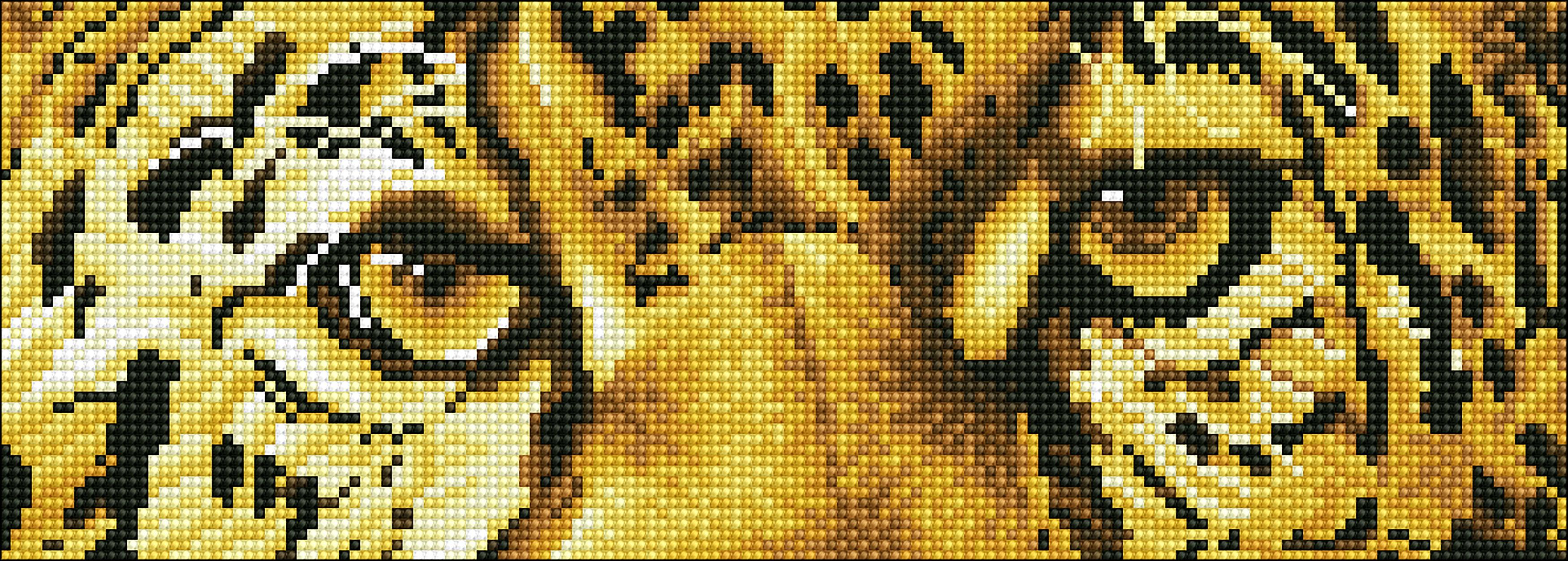 Diamond Dotz Diamond Embroidery Facet Art Kit 16.5X5.9-Leopard Spy