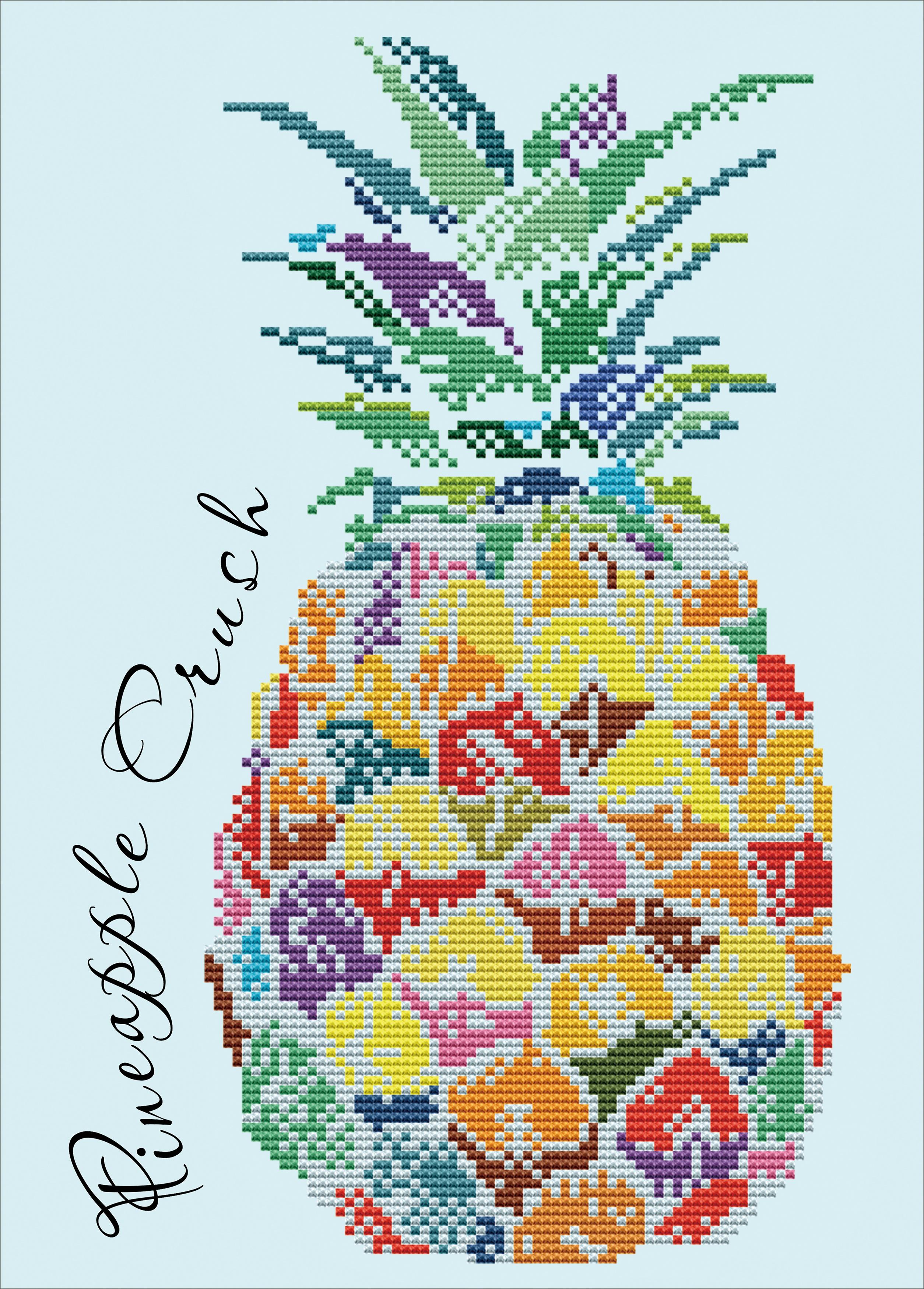 Diamond Dotz Diamond Embroidery Facet Art Kit 11X15.4-Pineapple Crush