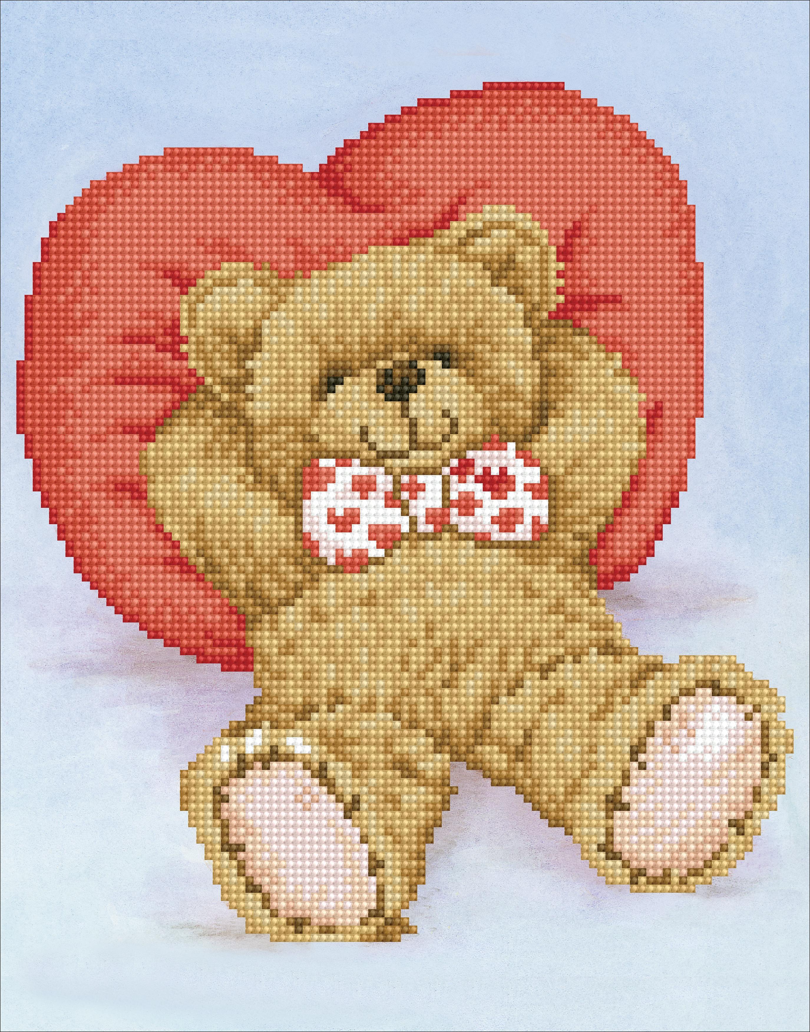 Diamond Dotz Diamond Embroidery Facet Art Kit 10.6X13.8-Relax-A-Bear