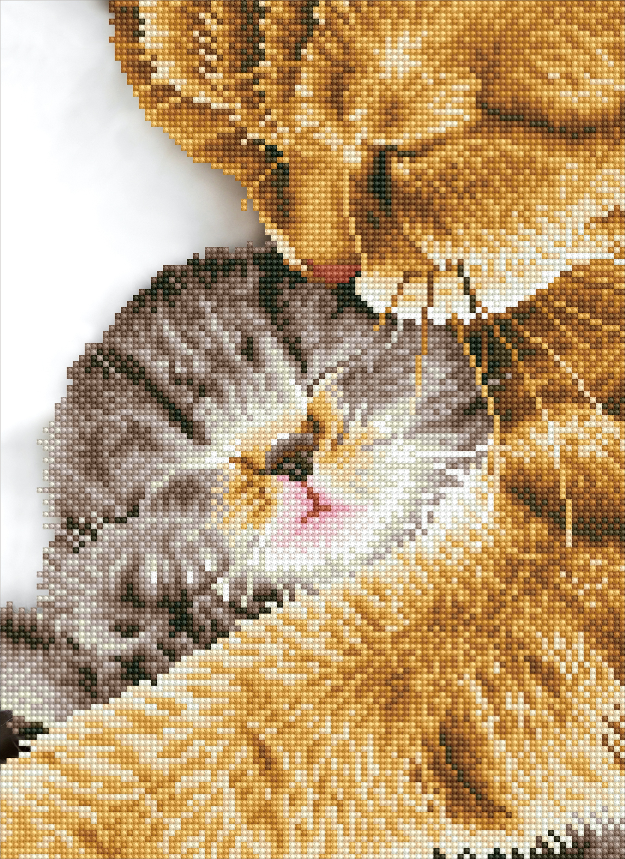 Diamond Dotz Diamond Embroidery Facet Art Kit 11.8X16-Tender Moment