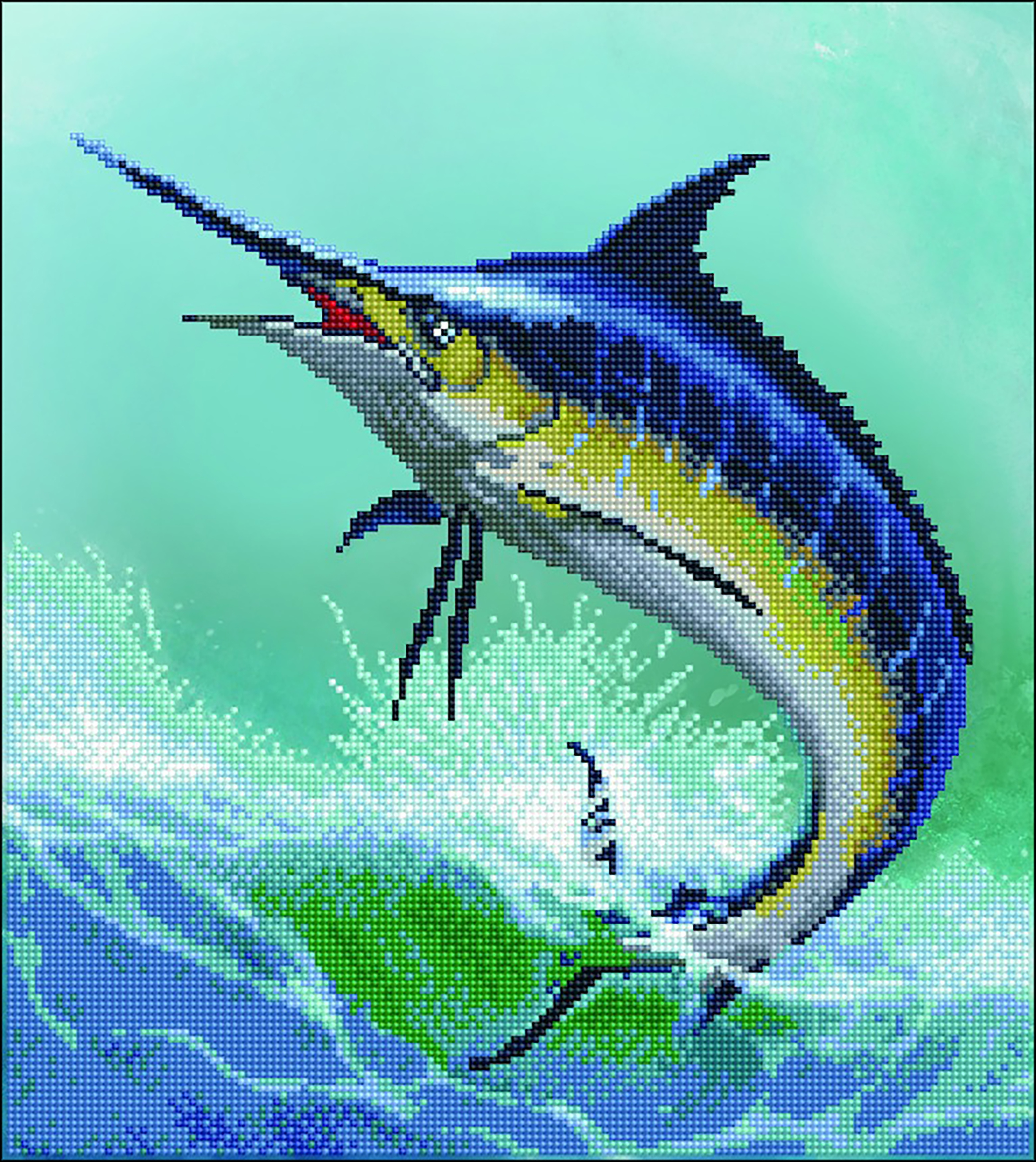Diamond Dotz Diamond Embroidery Facet Art Kit 16.5X18.5-Monarch Of The Sea