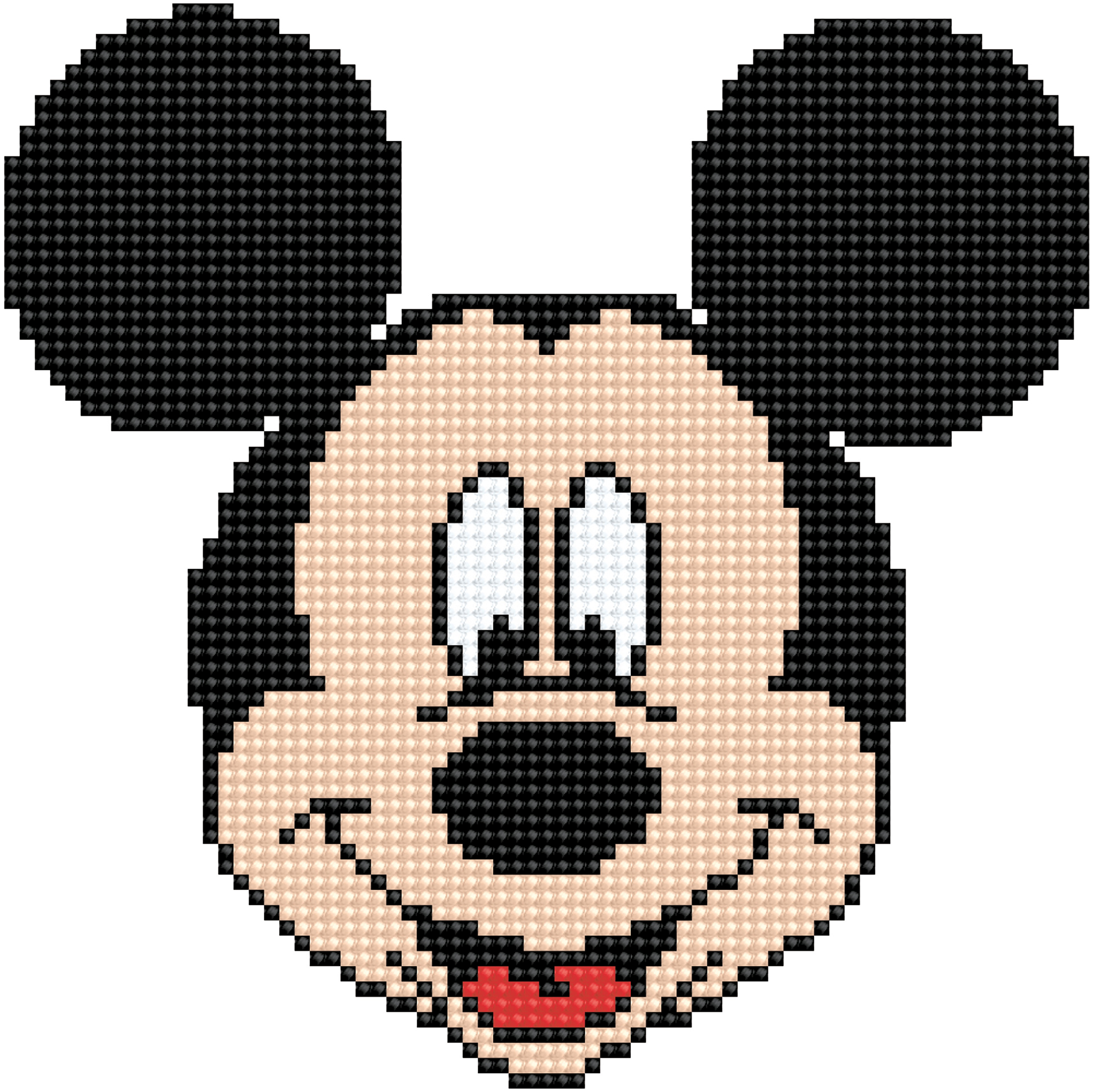 Diamond Dotz Diamond Embroidery Facet Art Kit 8.6X8.6-Mickey Head
