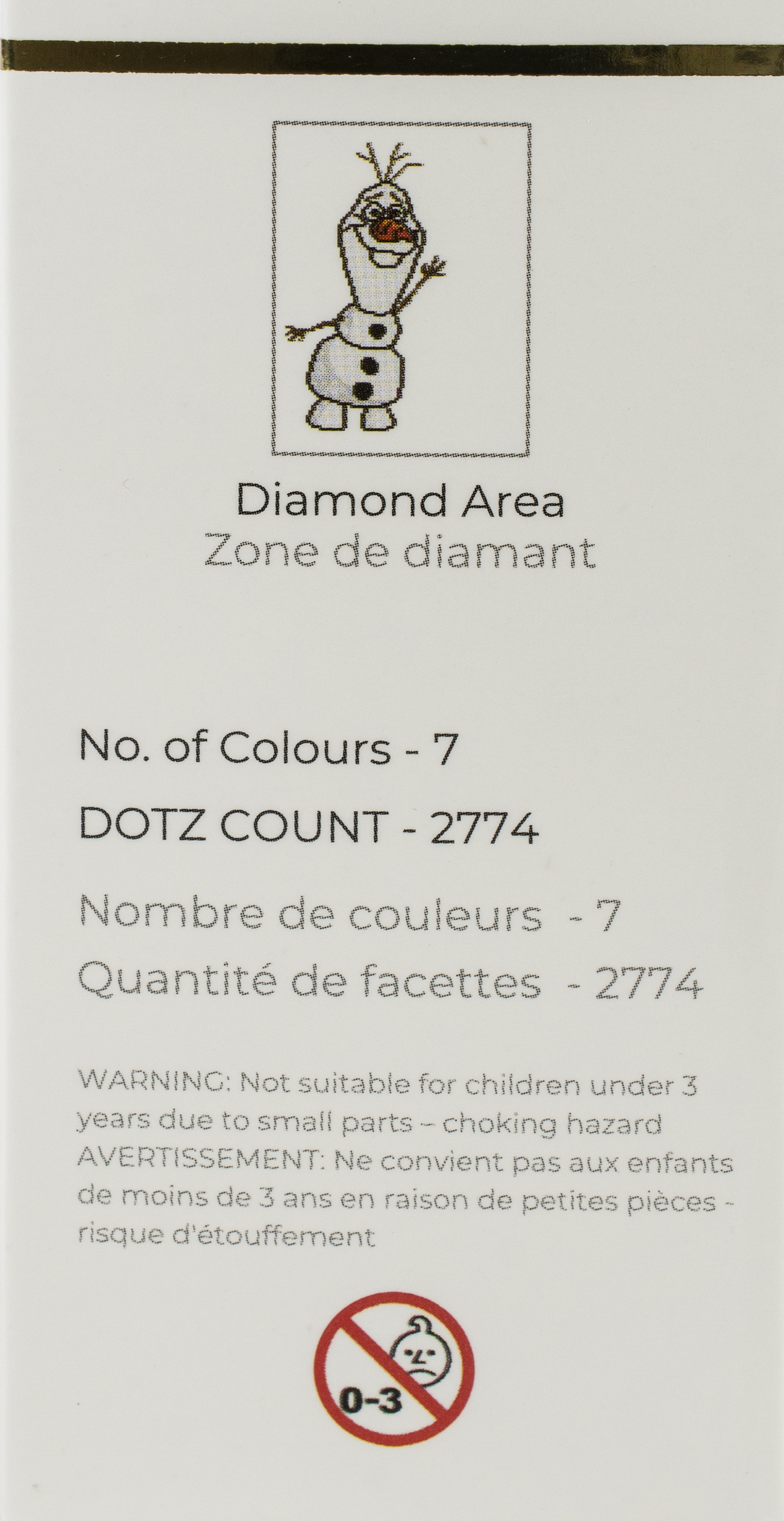 Diamond Dotz Diamond Embroidery Facet Art Kit 11X14.6-Olaf
