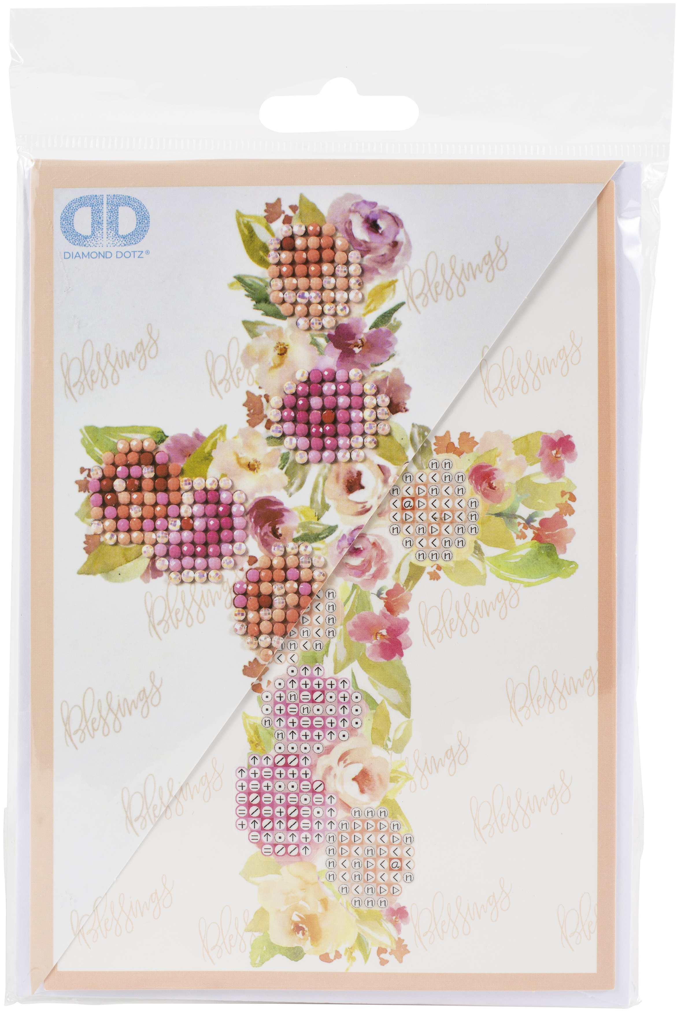 Diamond Dotz Diamond Embroidery Facet Art Greeting Card Kit-Blessings