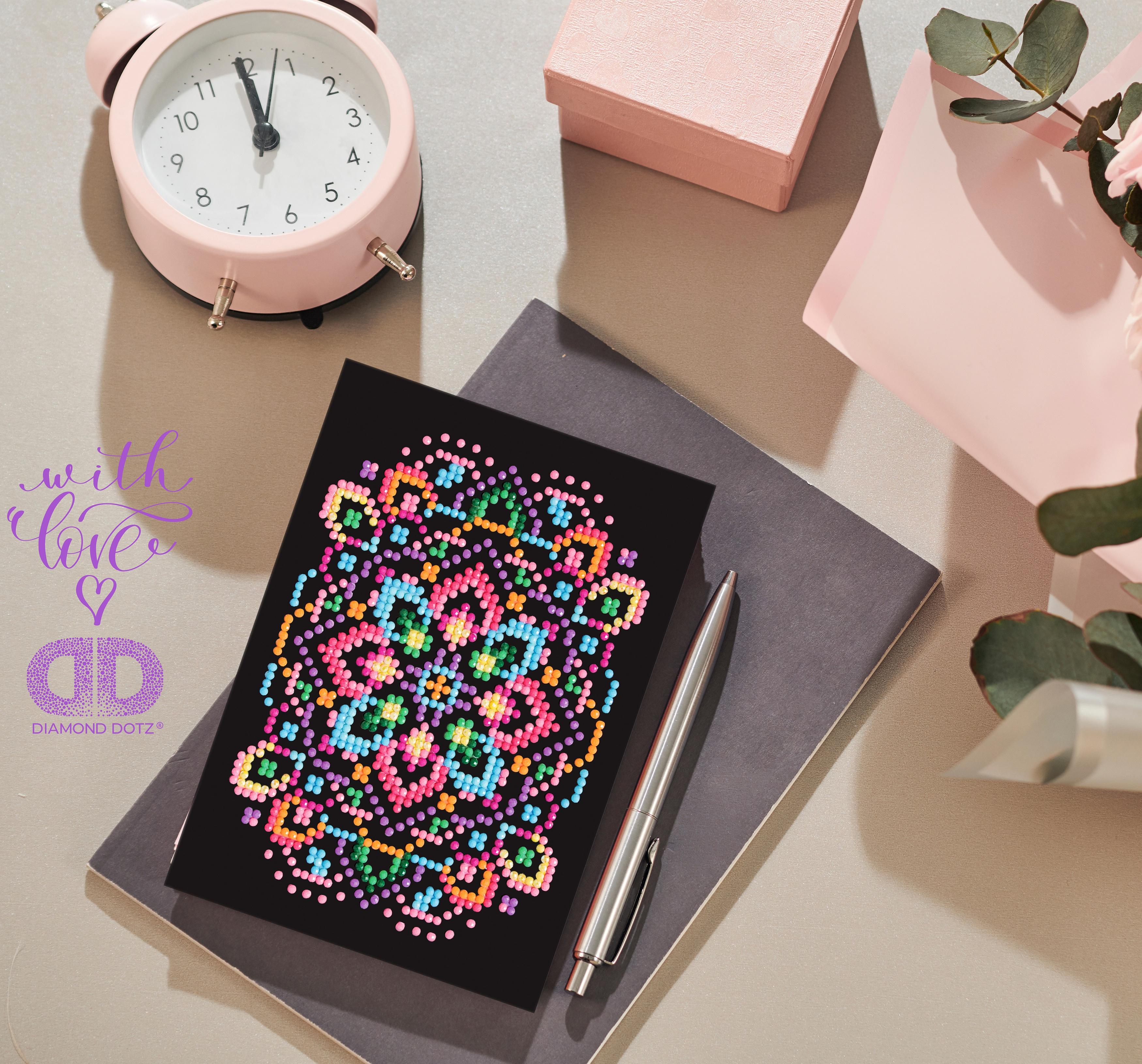 Diamond Dotz Diamond Embroidery Facet Art Greeting Card Kit-Blackstar