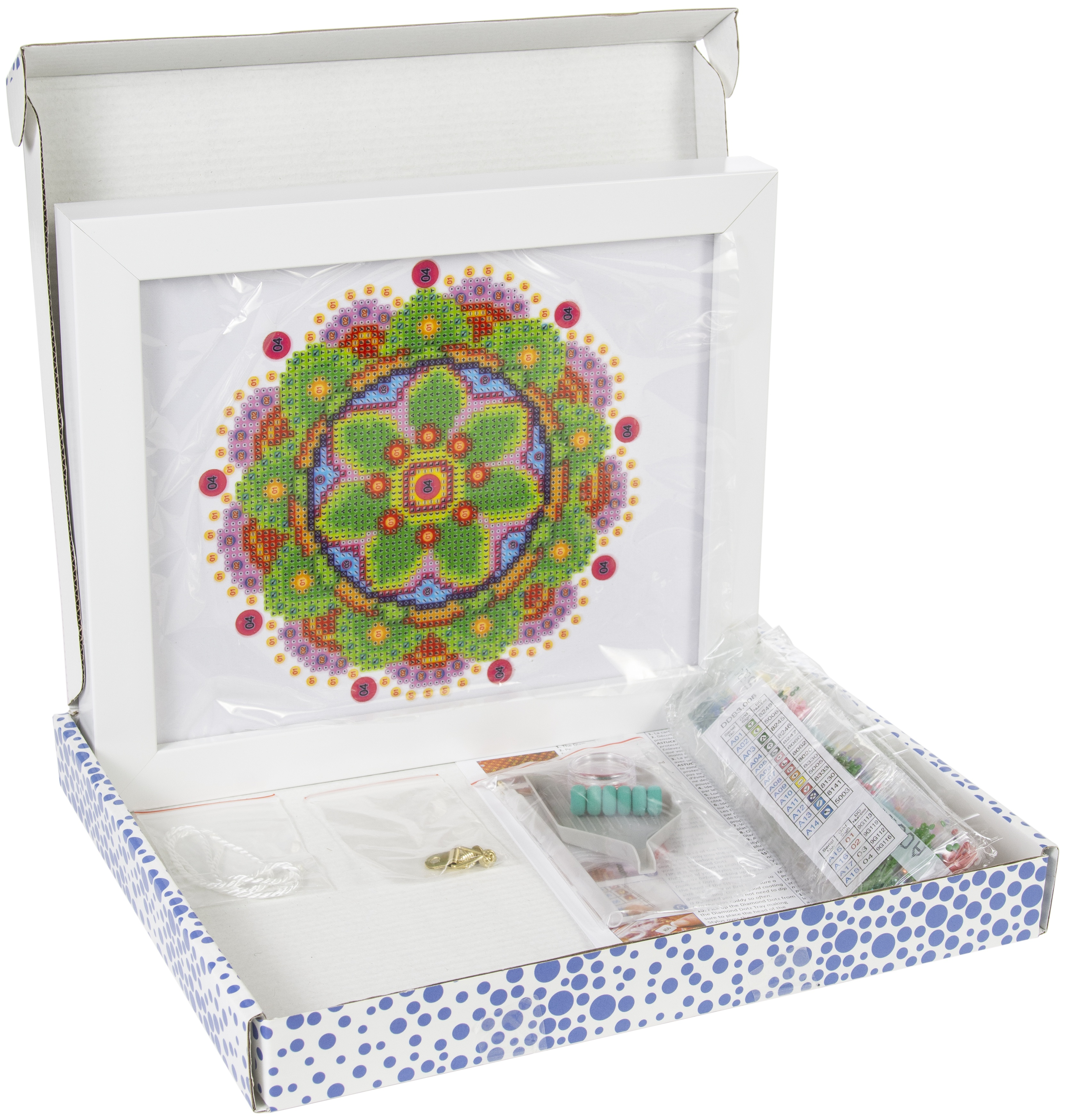 Diamond Dotz Diamond Embroidery Facet Art Kit W/ Frame-Flower Mandala