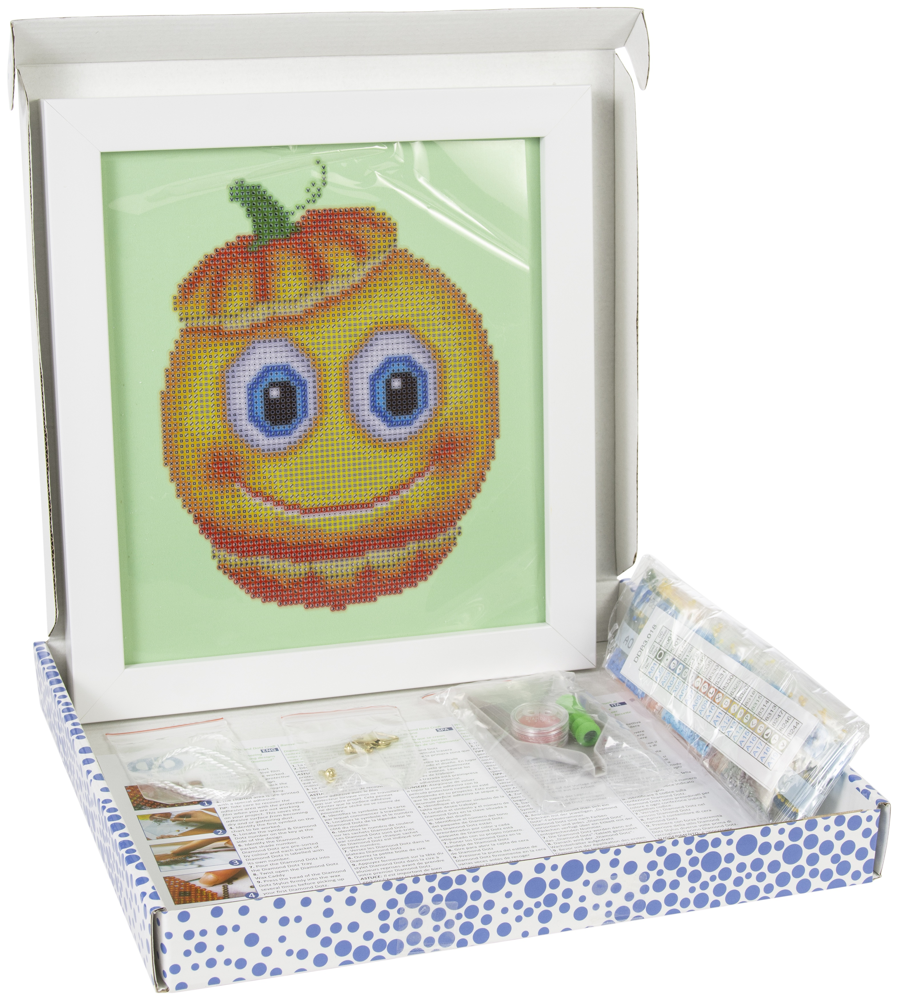 Diamond Dotz Diamond Embroidery Facet Art Kit W/ Frame-Sweet Pumpkin