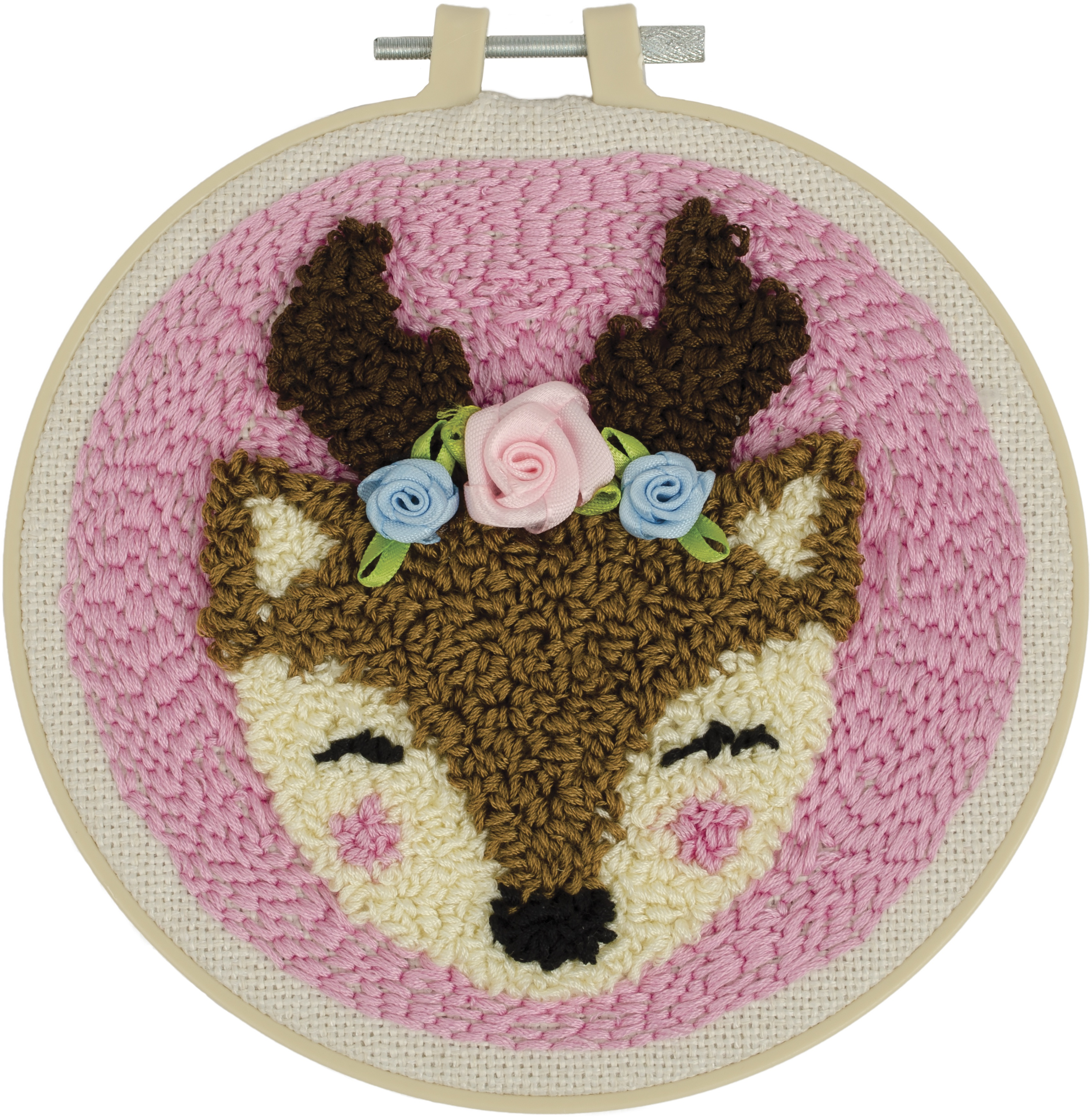 Fabric Editions Needle Creations Needle Punch Kit 6-Deer