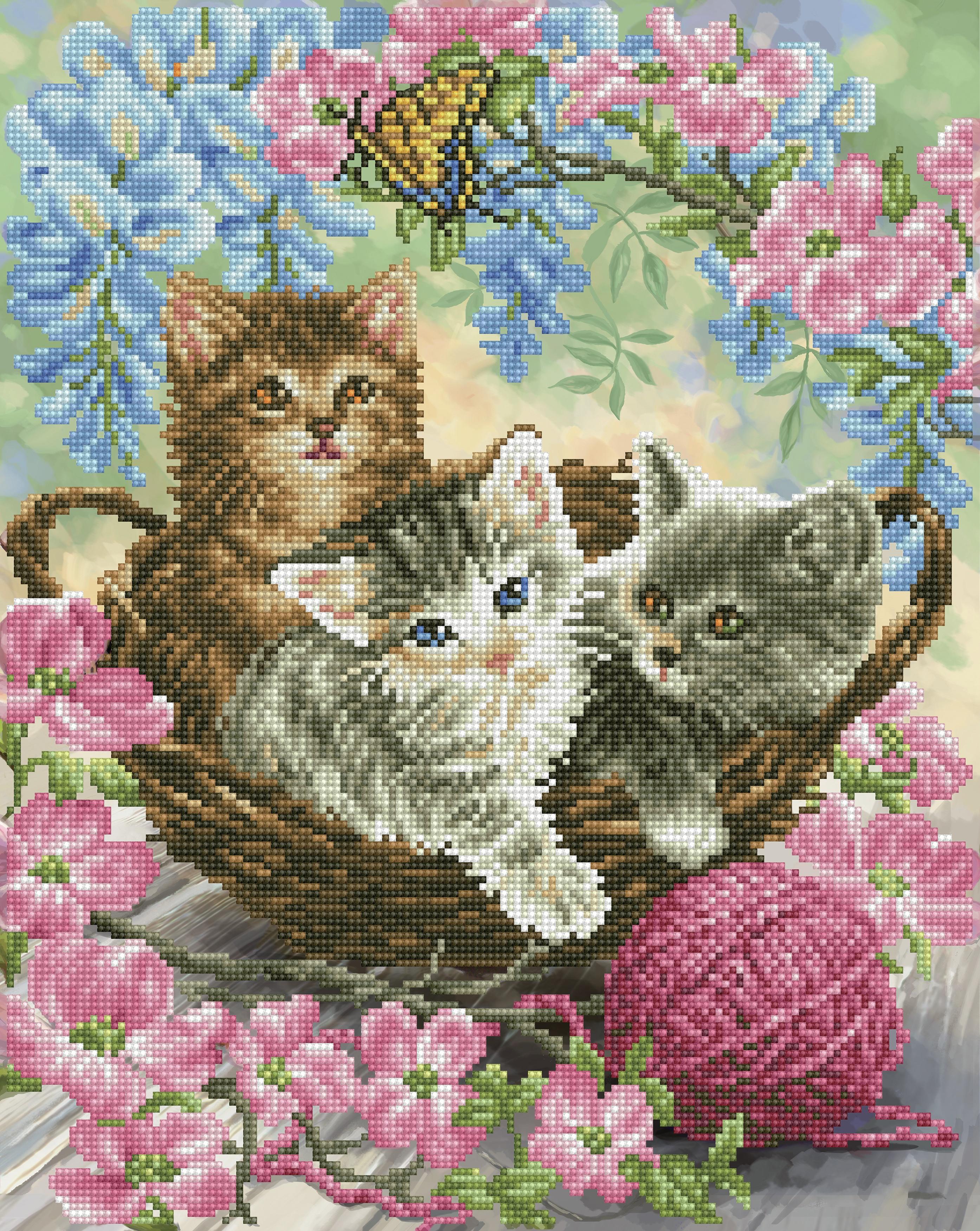 Diamond Dotz Diamond Embroidery Facet Art Kit 15.7X19.7-Kitty Knits