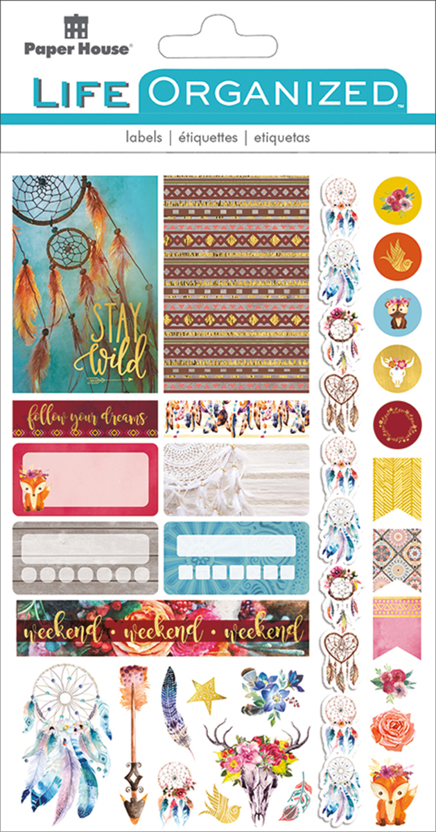 Paper House Life Organized Planner Stickers 4/Sht-Harry Potter