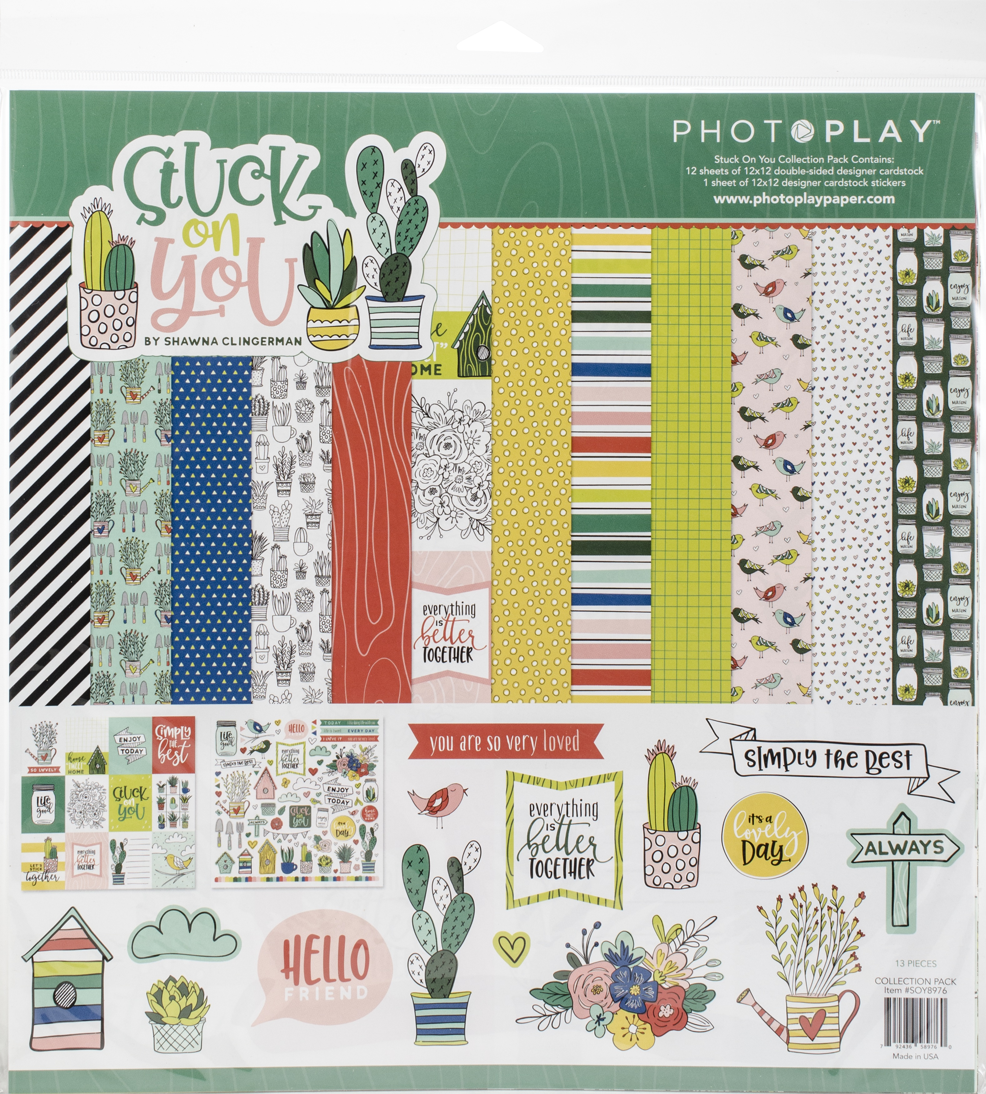 PhotoPlay Collection Pack 12X12-Stuck On You