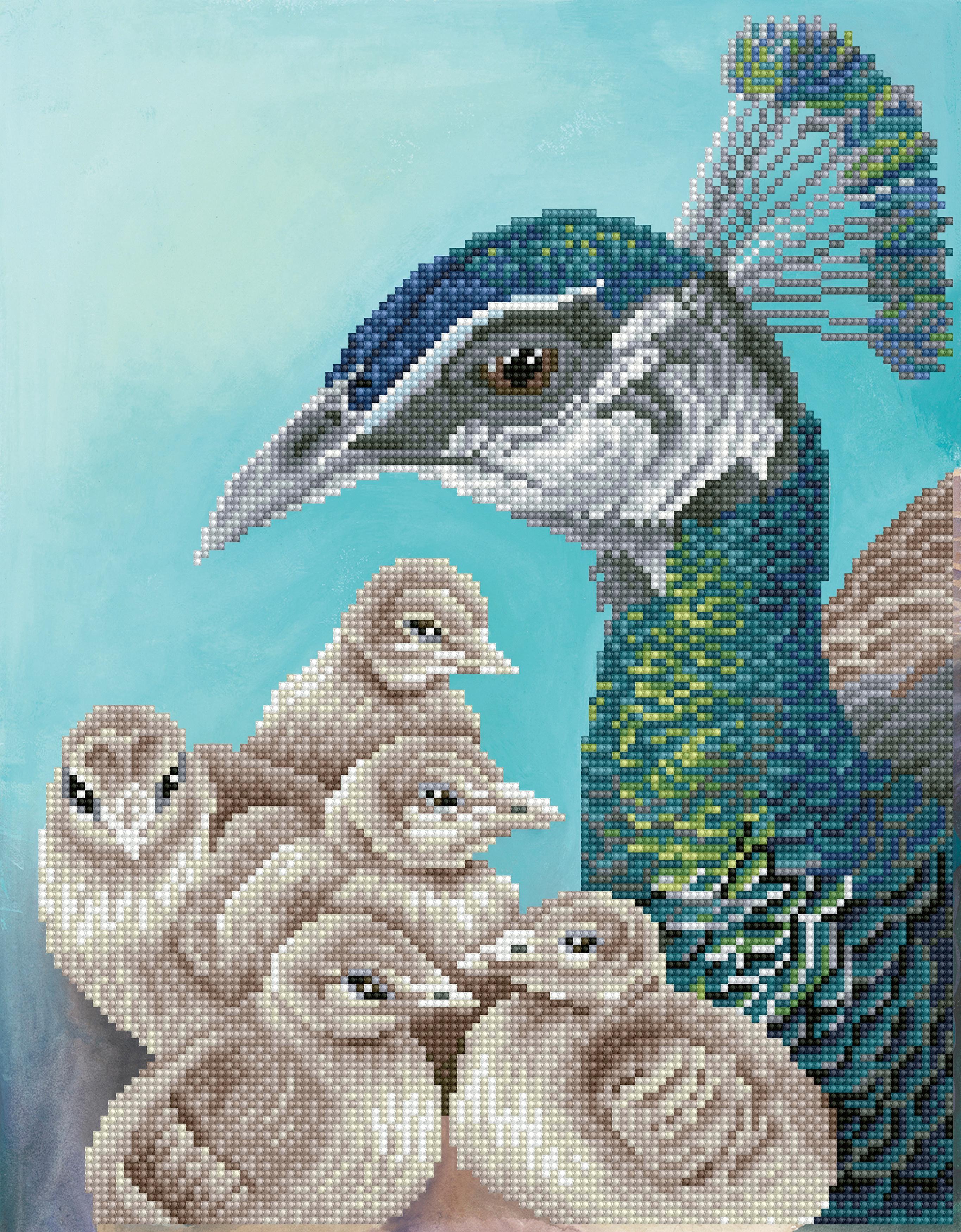 Diamond Dotz Diamond Embroidery Facet Art Kit 13.8X17.7-Mother On Guard