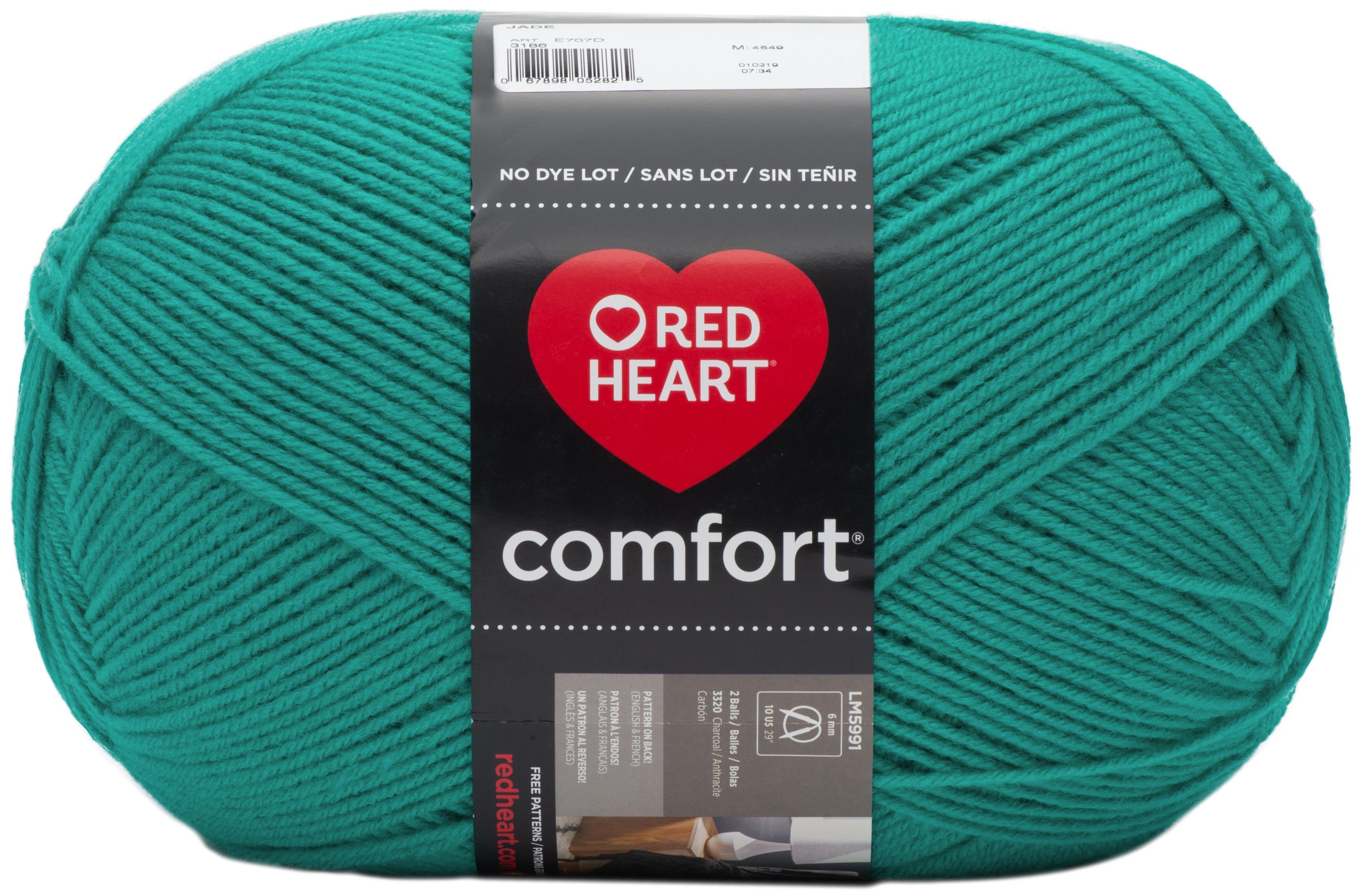 Red Heart Comfort Yarn-Jade