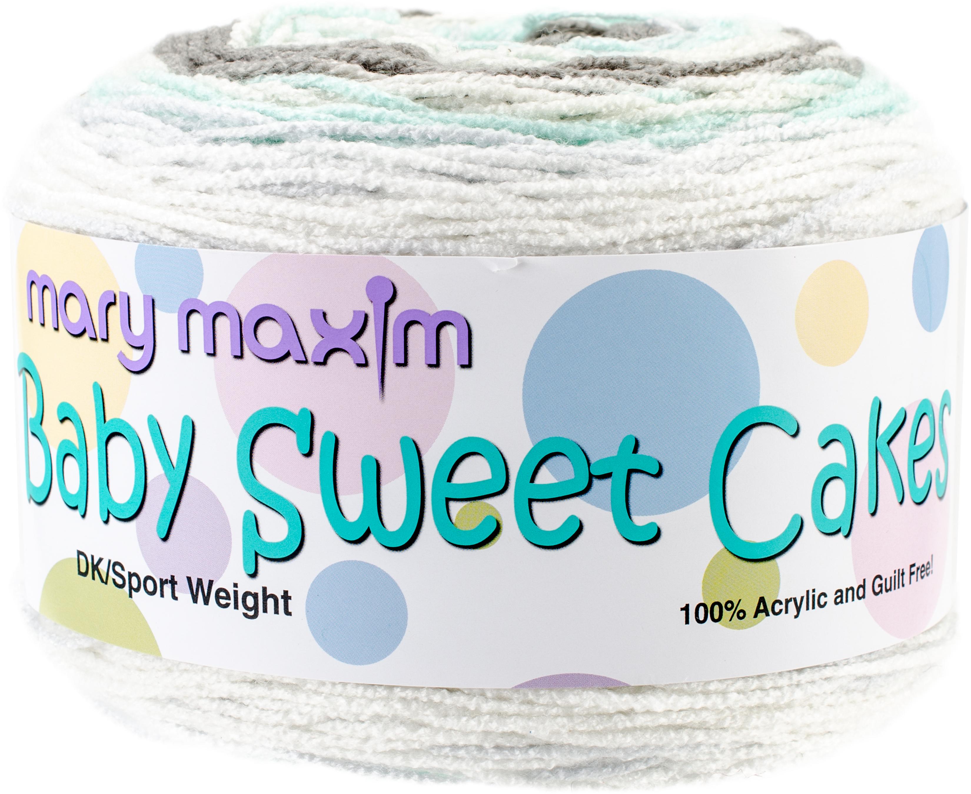 Mary Maxim Baby Sweet Cakes Yarn-Lullaby