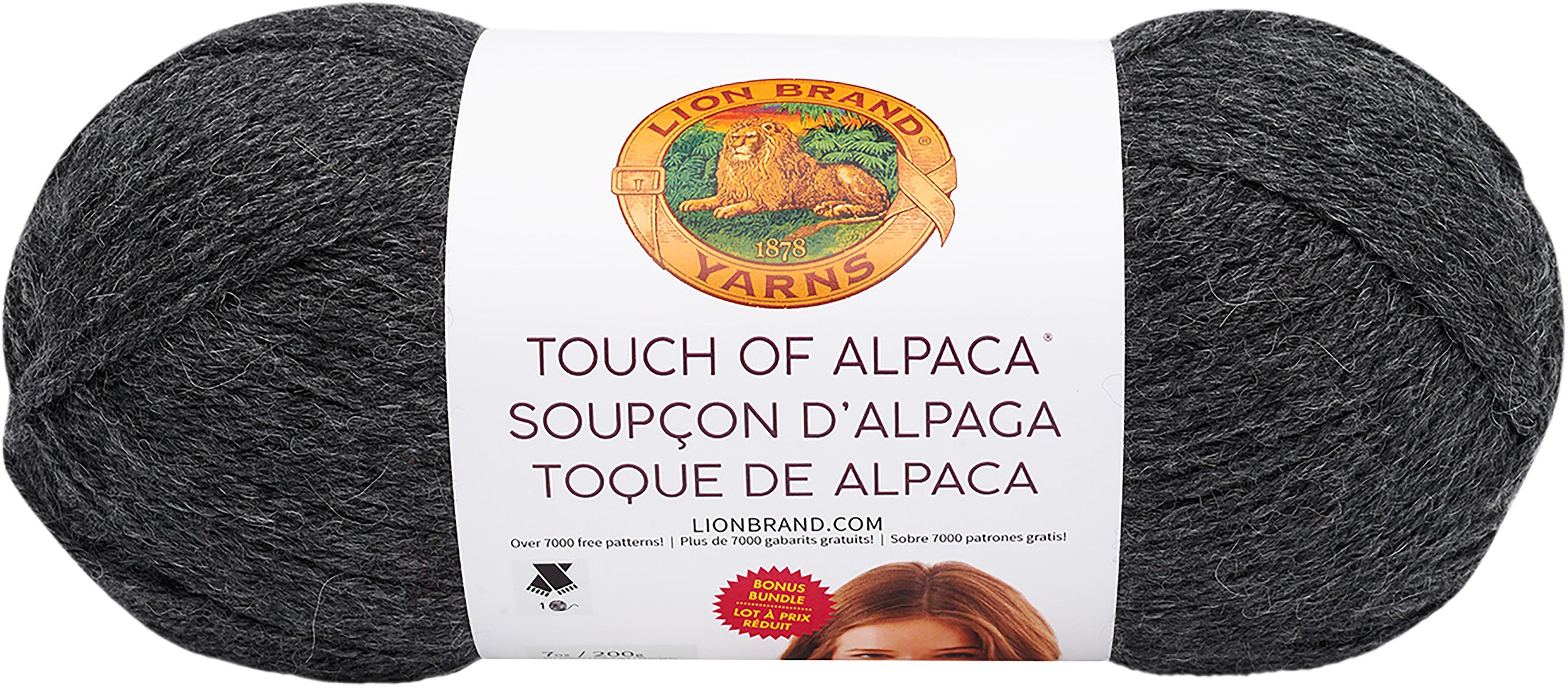 Lion Brand Touch Of Alpaca Bonus Bundle Yarn