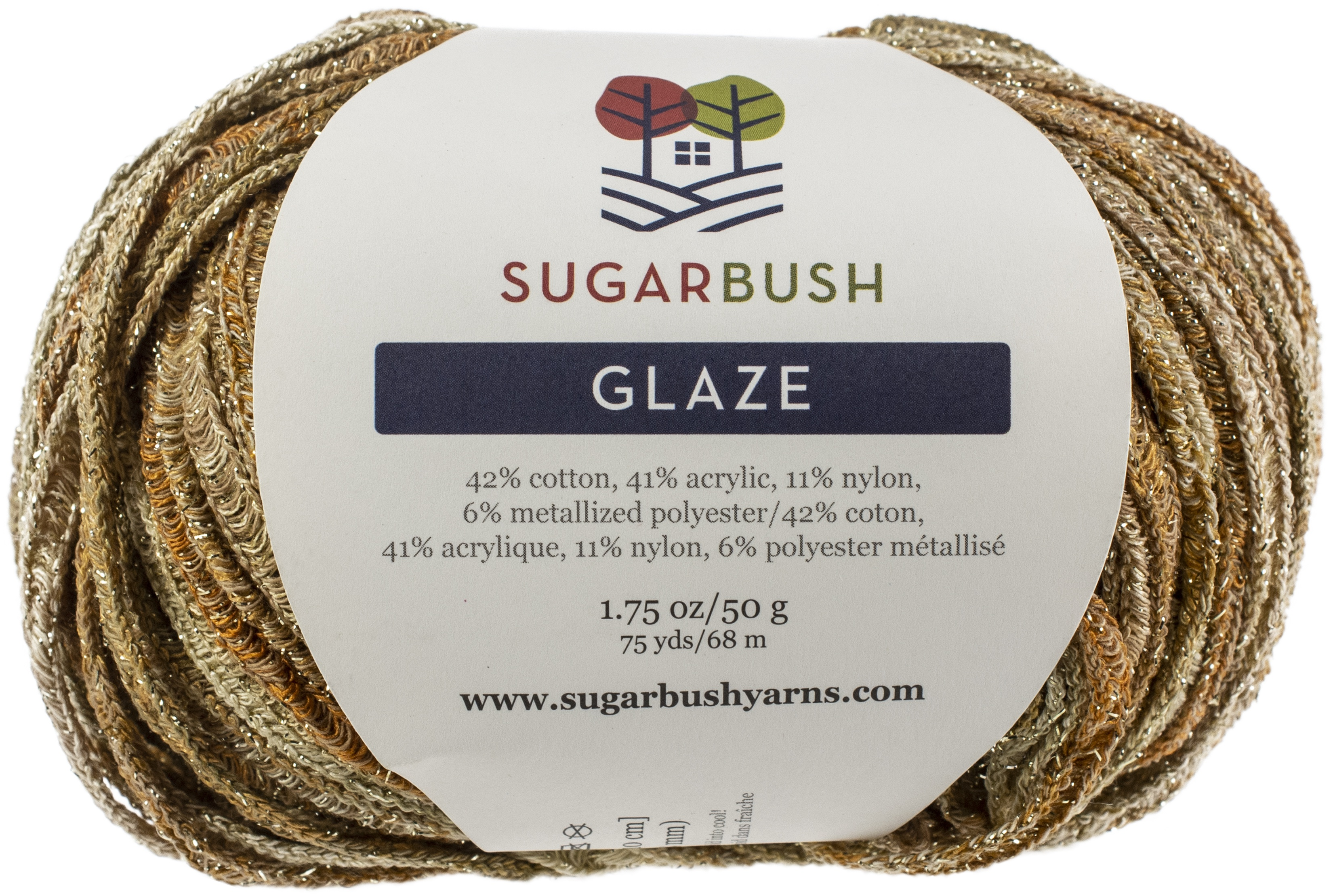 Sugar Bush Yarn Glaze-Brown Sugar